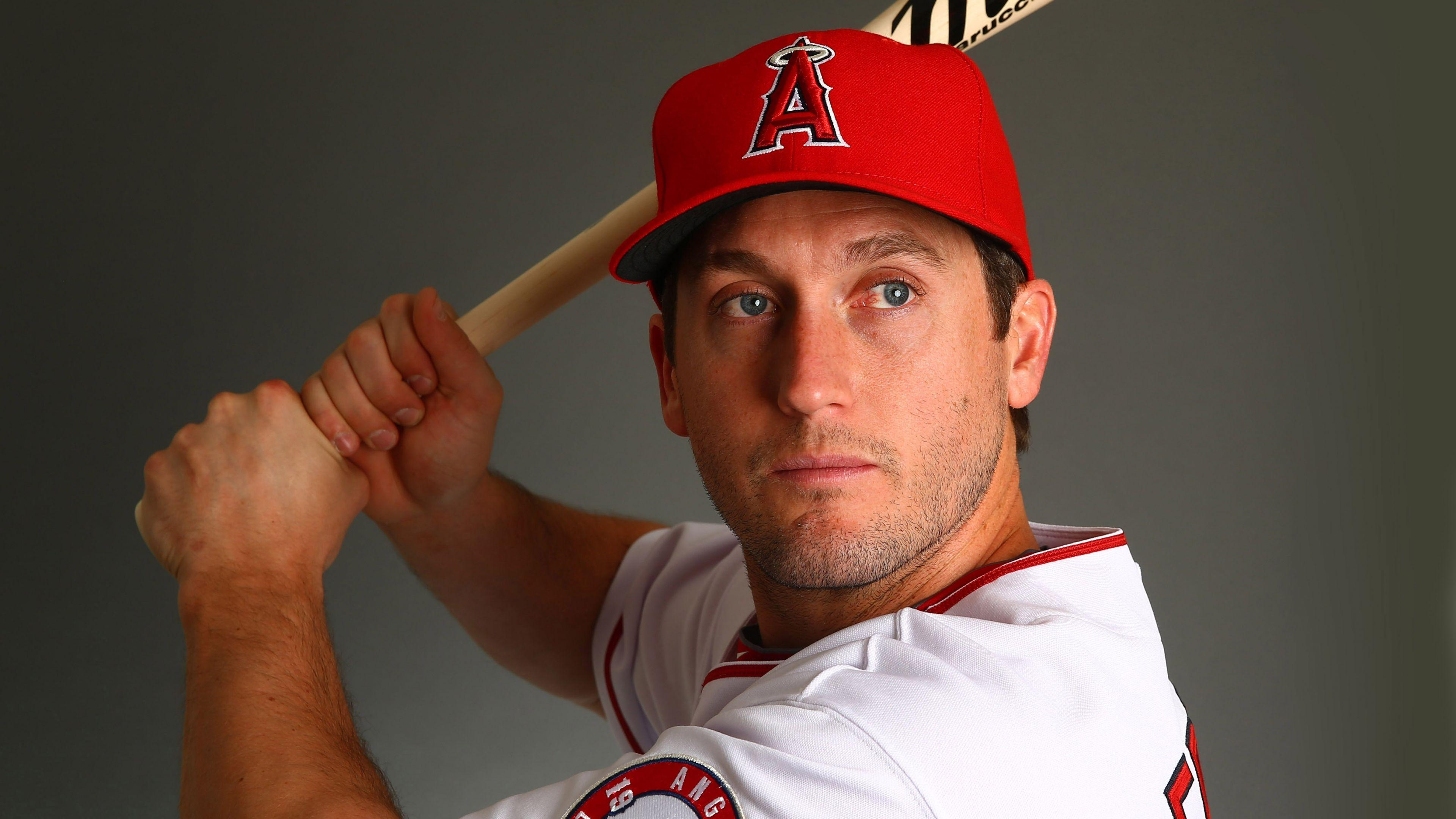 Download Wallpapers 3840x2160 David freese, Baseball, Los angeles
