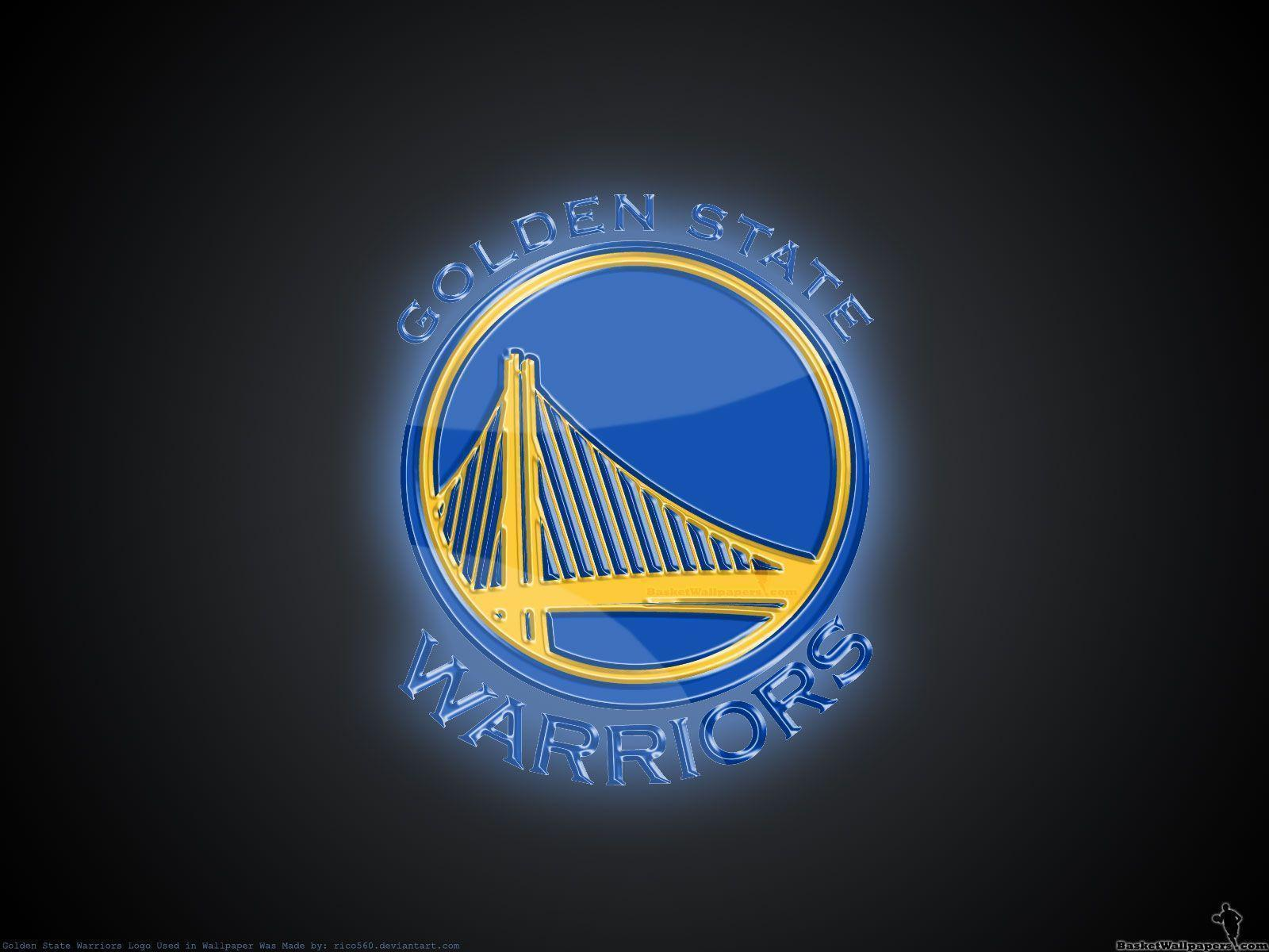 Golden State Warriors 3D Logo Wallpapers