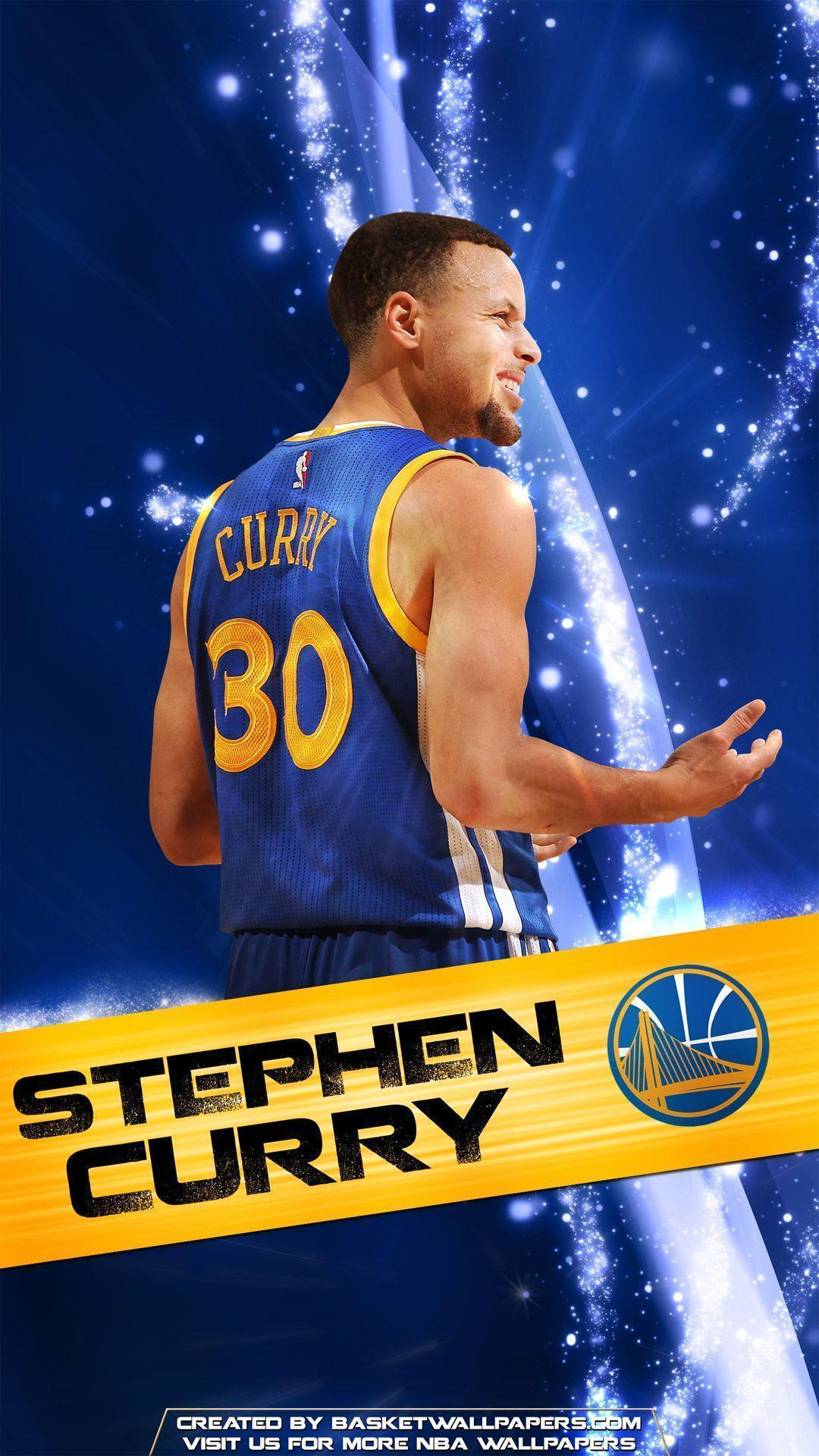 Stephen Curry Golden State Warriors 2016 Mobile Wallpapers