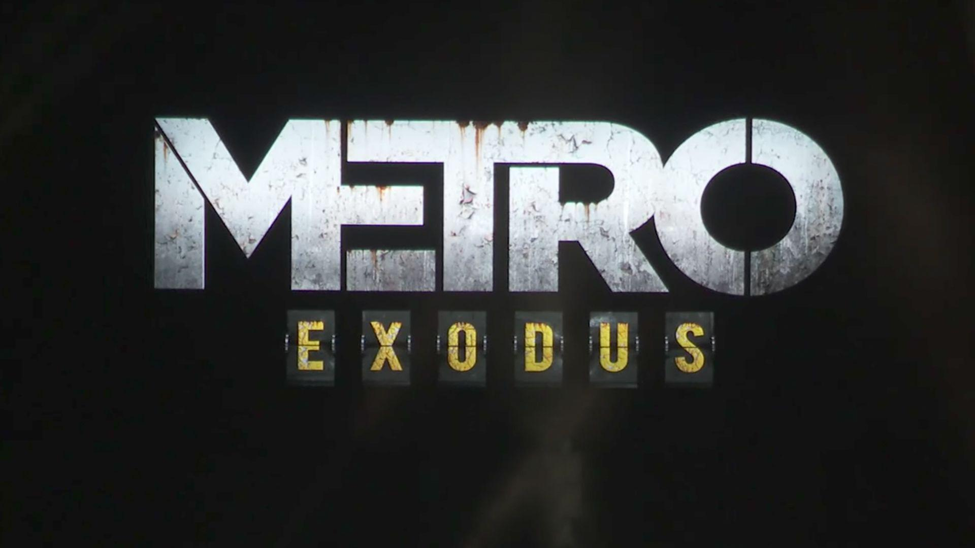 Metro Exodus announced for Xbox One X