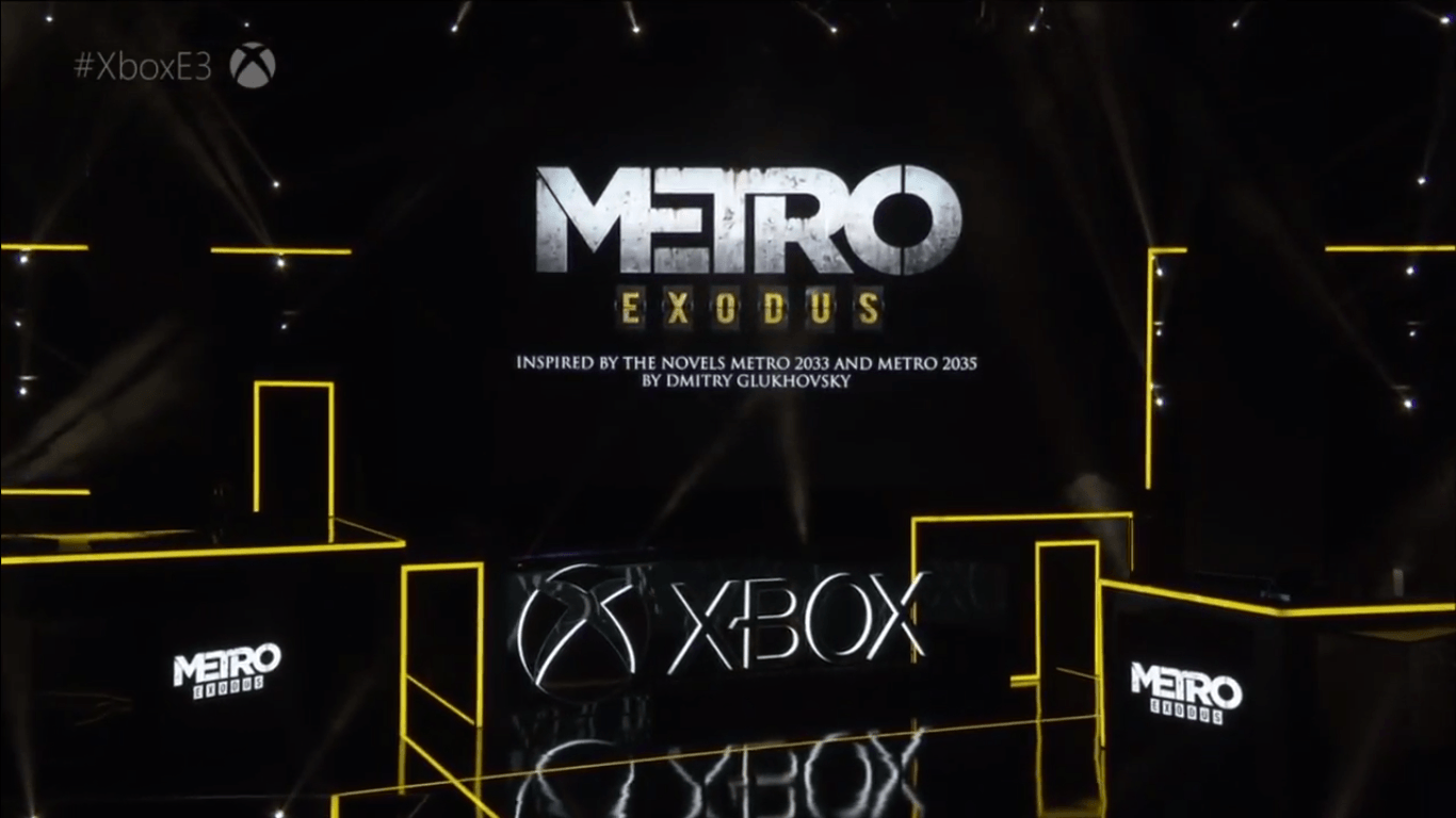 Metro Exodus Devs Targeting Full 4K On Xbox One X, Reveal Was
