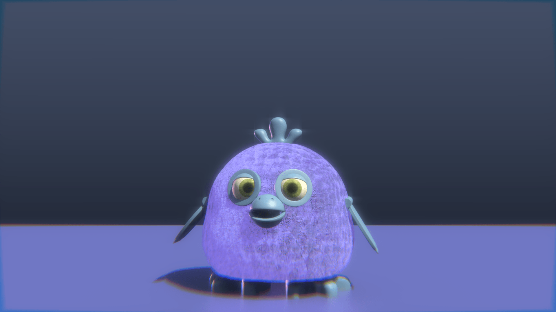 So i made my own brand of Tattletail/Furby/Whatevers : Tattletail