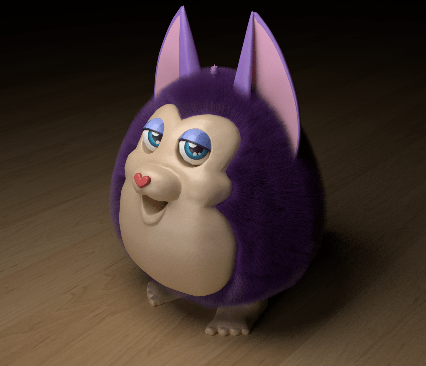 Tattletail but it actually has fur by Atnortsi