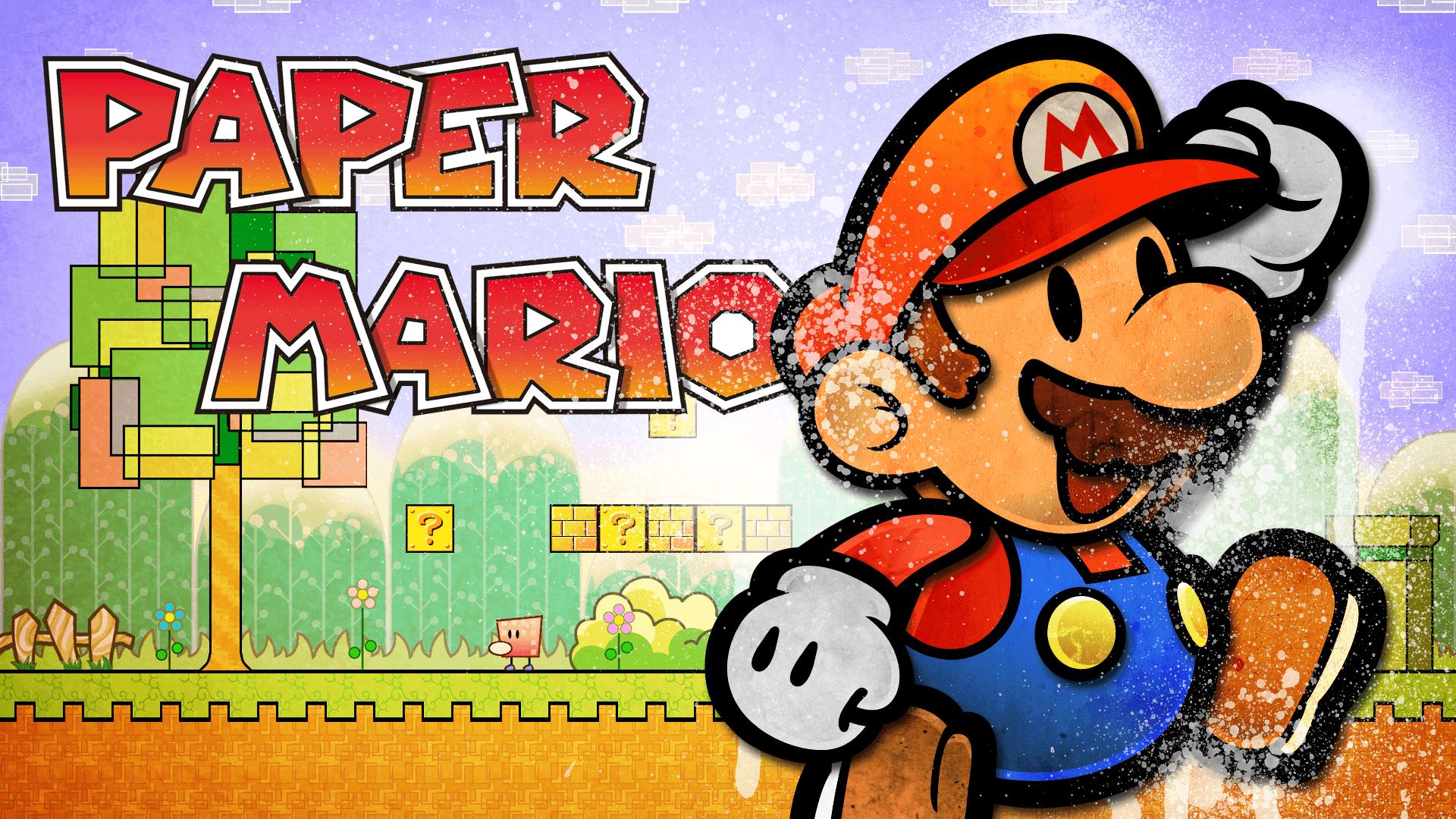 Super Paper Mario Wallpapers Wallpaper Cave