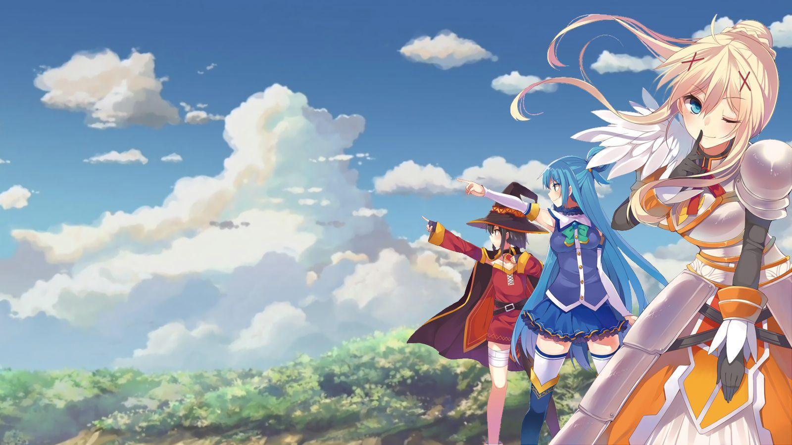 900 Wallpaper Anime Konosuba Hd HD Paling Baru