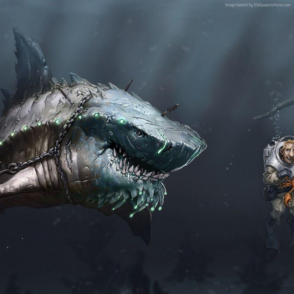 Megalodon Bilder