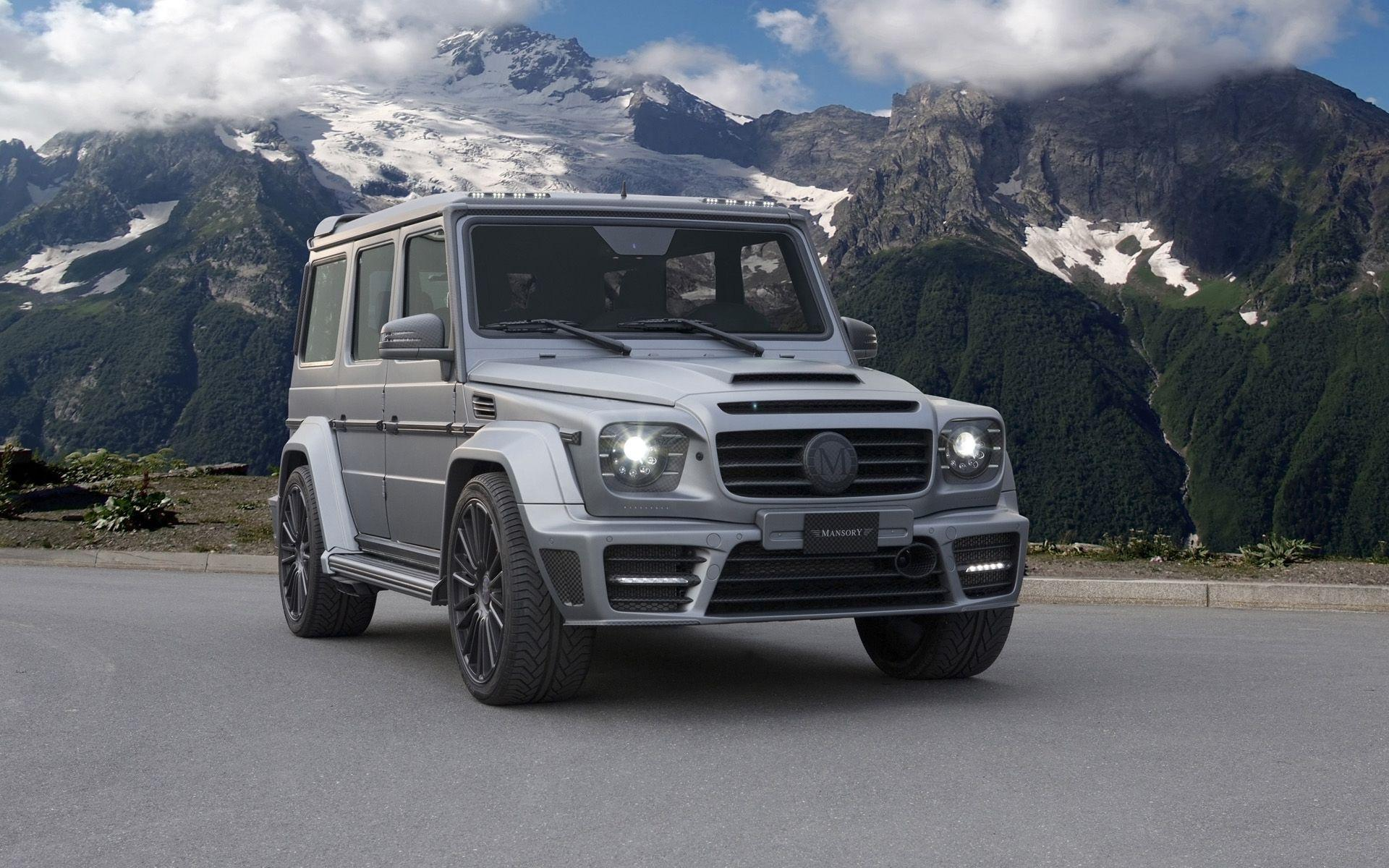 2014 Mansory Mercedes-Benz G-Class AMG Gronos - Static - 1 ...