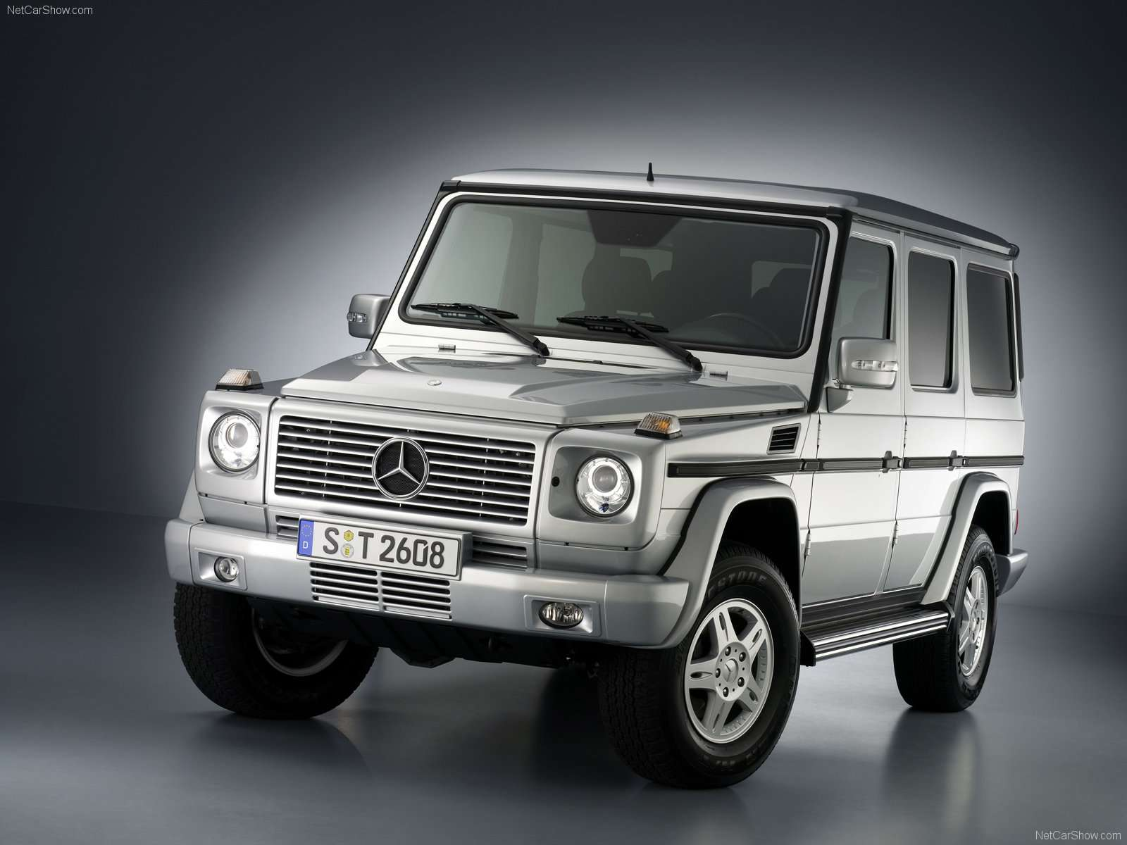 2004 Mercedes-Benz G-Class W463 Convertible wallpapers, specs and ...