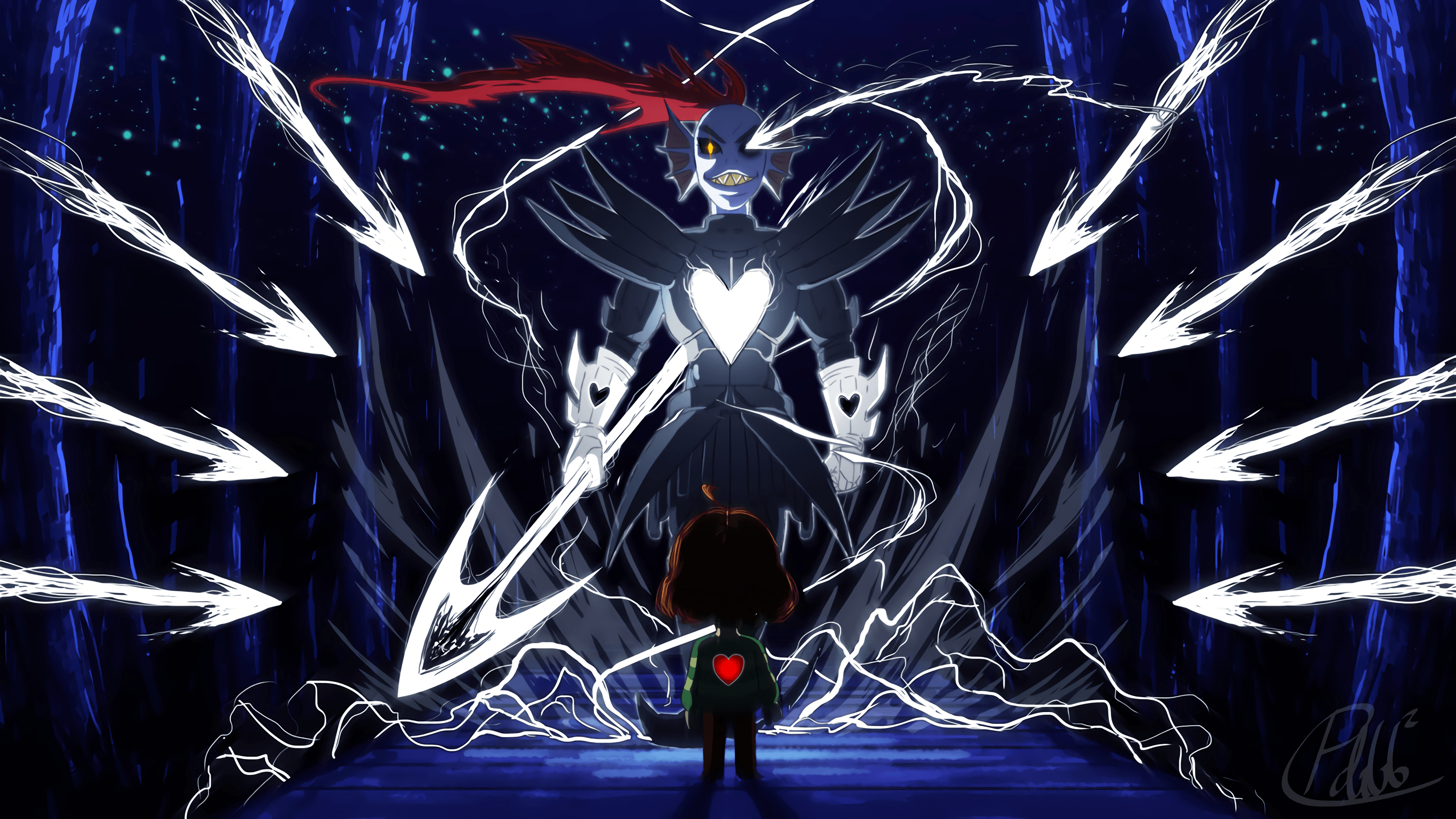 20 Chara (Undertale) HD Wallpapers | Backgrounds - Wallpaper Abyss