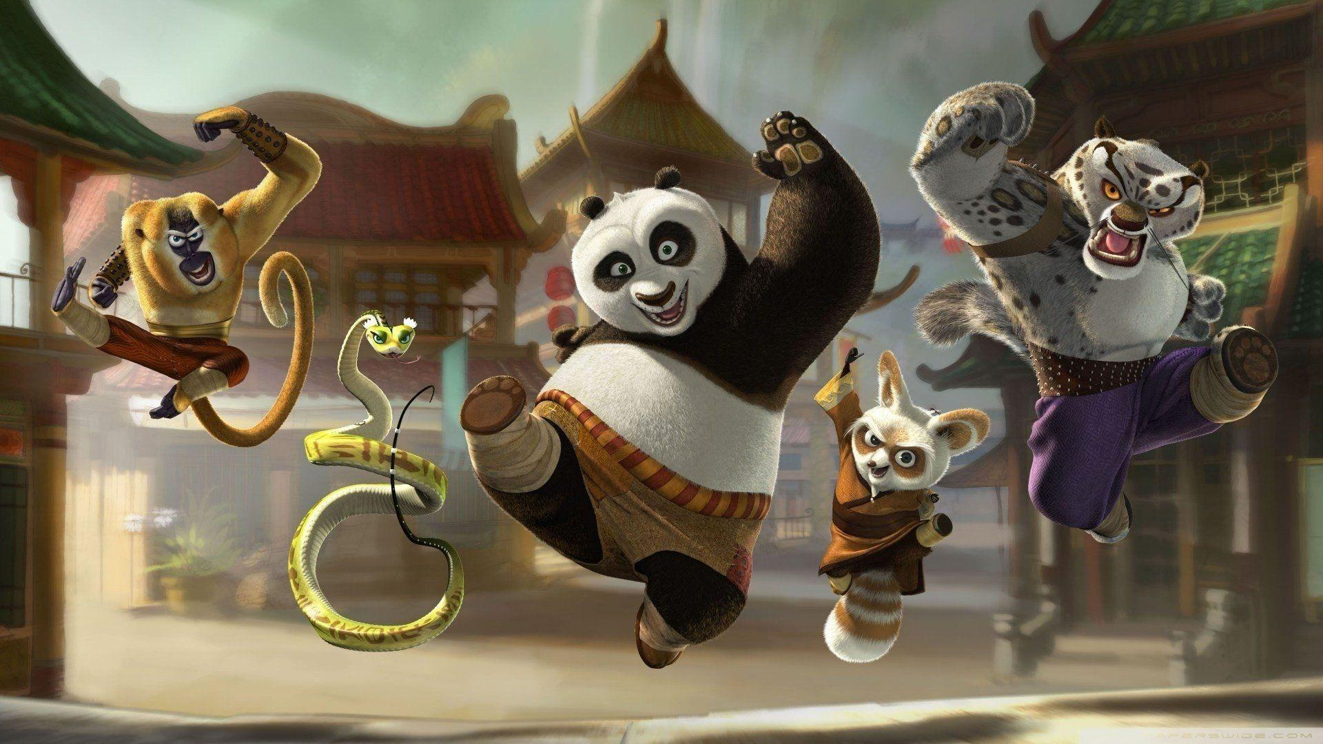Kung Fu Panda Wallpapers Wallpaper Cave