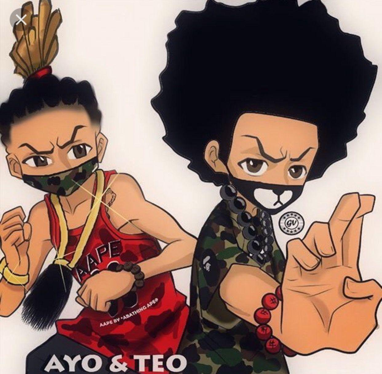 Ayo Amp Teo Wallpapers Wallpaper Cave