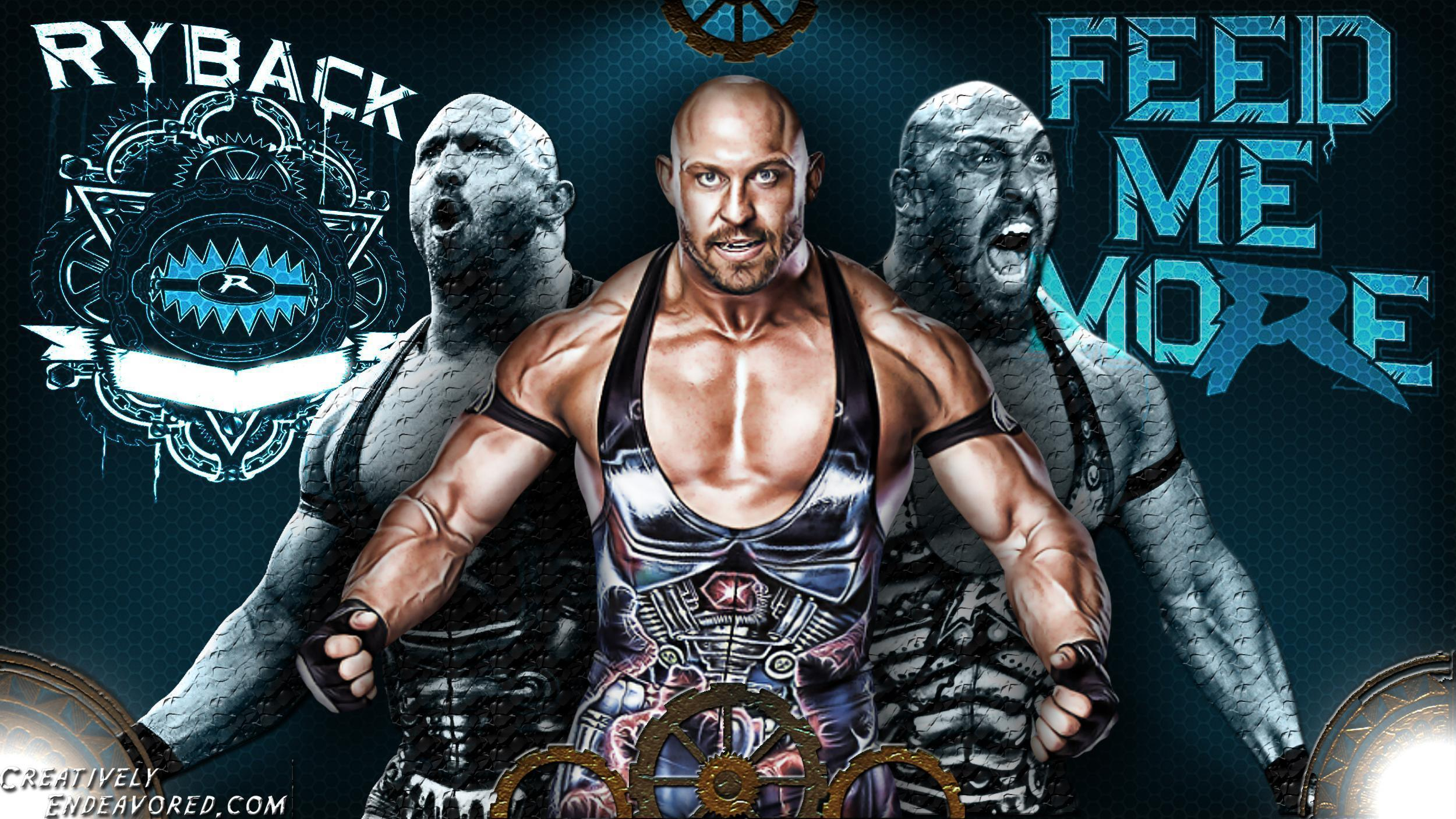 Ryback WWE Superstar 2013 HD Wallpaper For Desktop