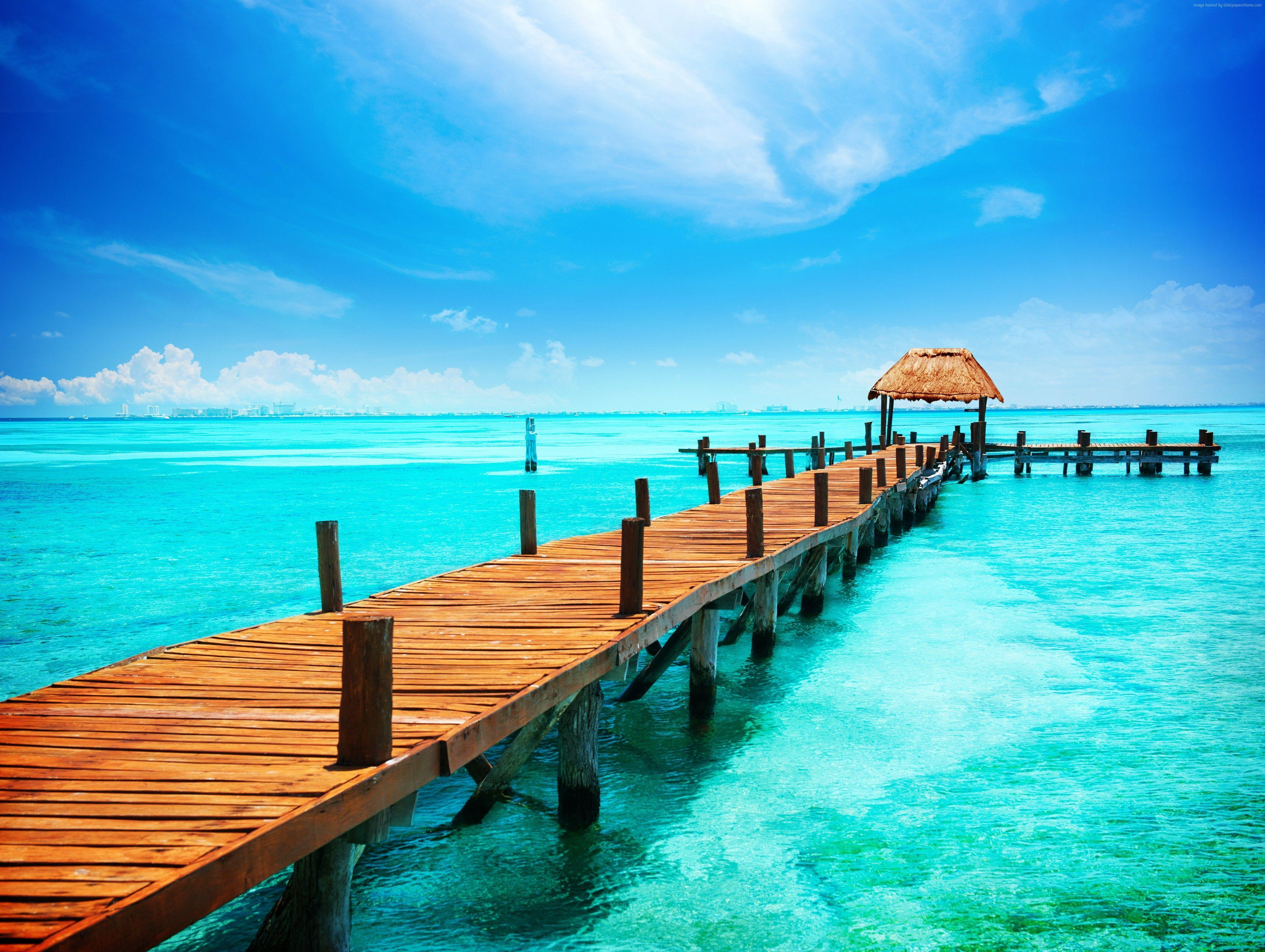 Wallpapers Cancun, Mexico, Best beaches of 2017, tourism, travel