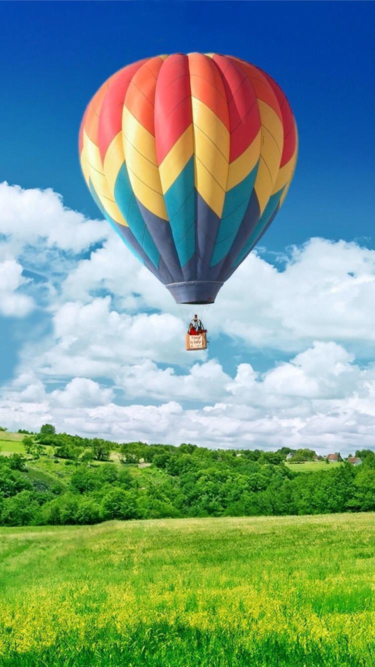 Air Balloon Win10 Landscape Iphone 6 Wallpaper Iphone 6