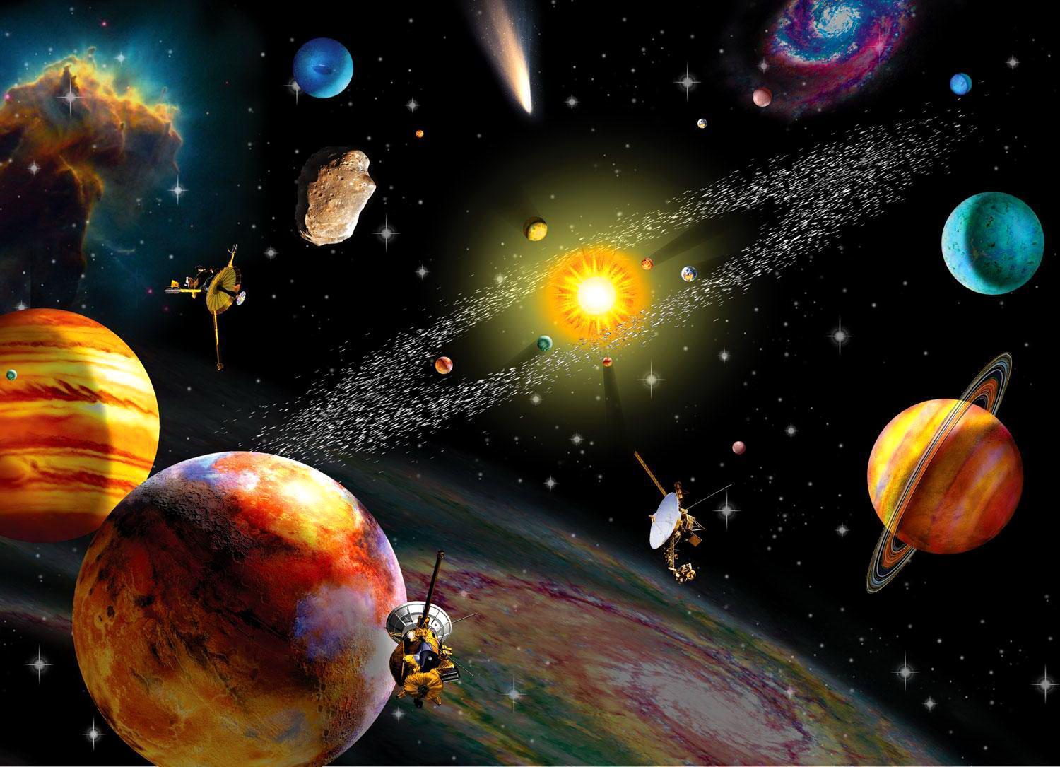 characteristics of the solar system planets Characteristics of the sun and planets the primary components of the solar system are the sun and the planets except for mercury and venus, all the planets have one or more satellites.