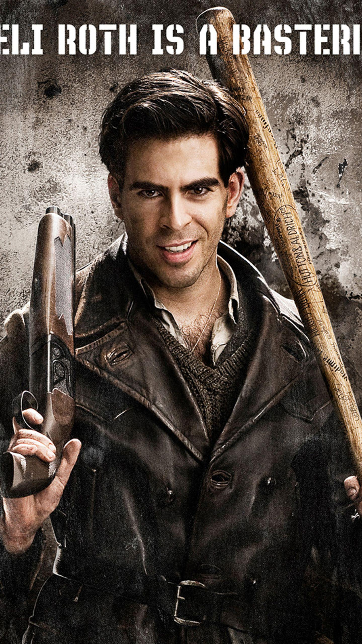inglourious basterds eli roth LG G3 Wallpapers