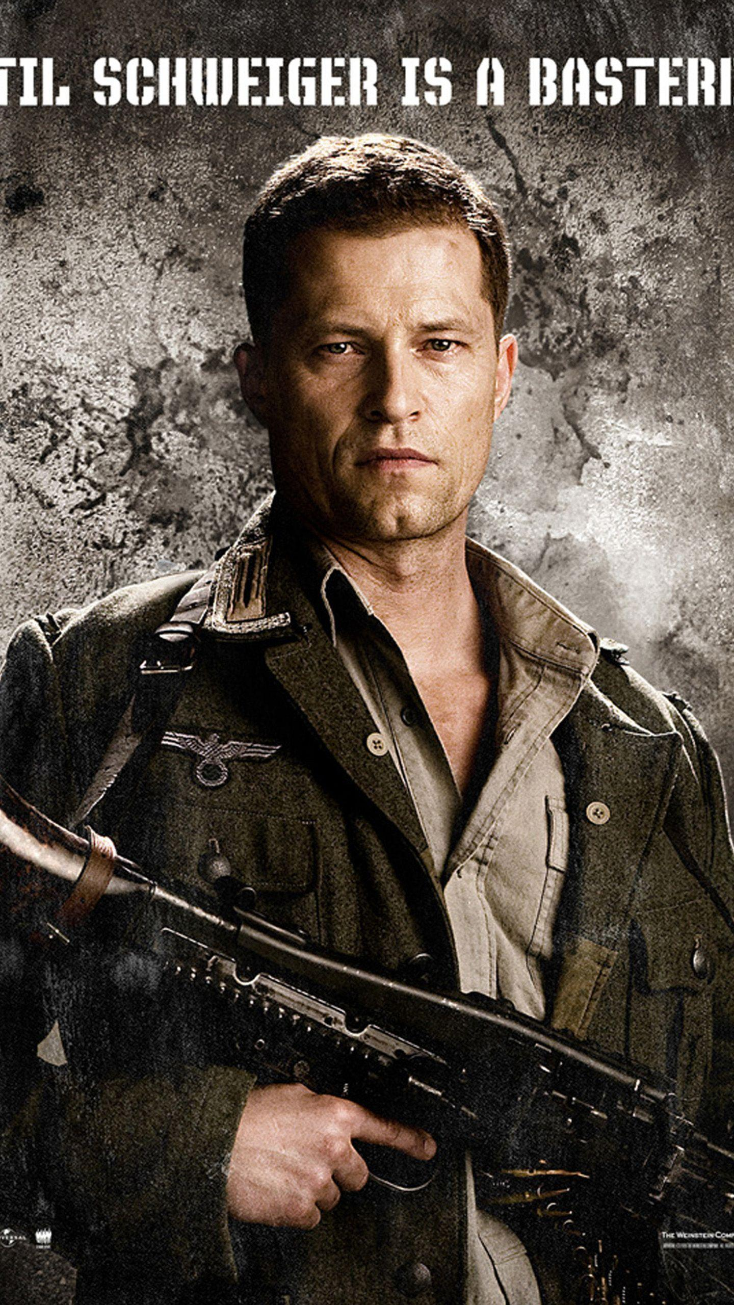 inglourious basterds til schweiger LG G3 Wallpapers