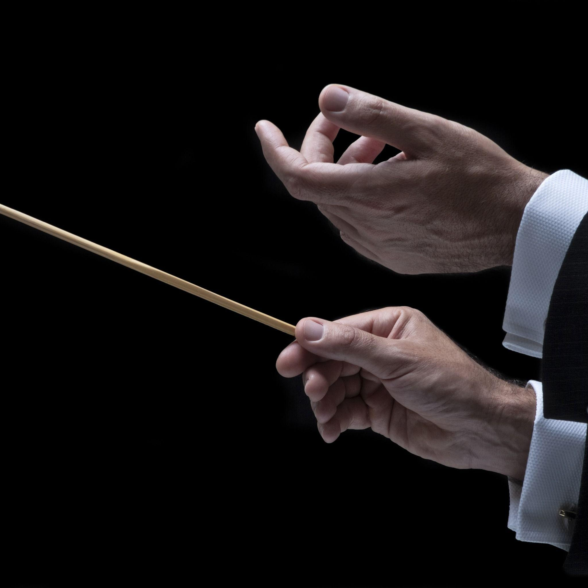 Download Wallpaper hands, orchestra, Conductor, section музыка ...