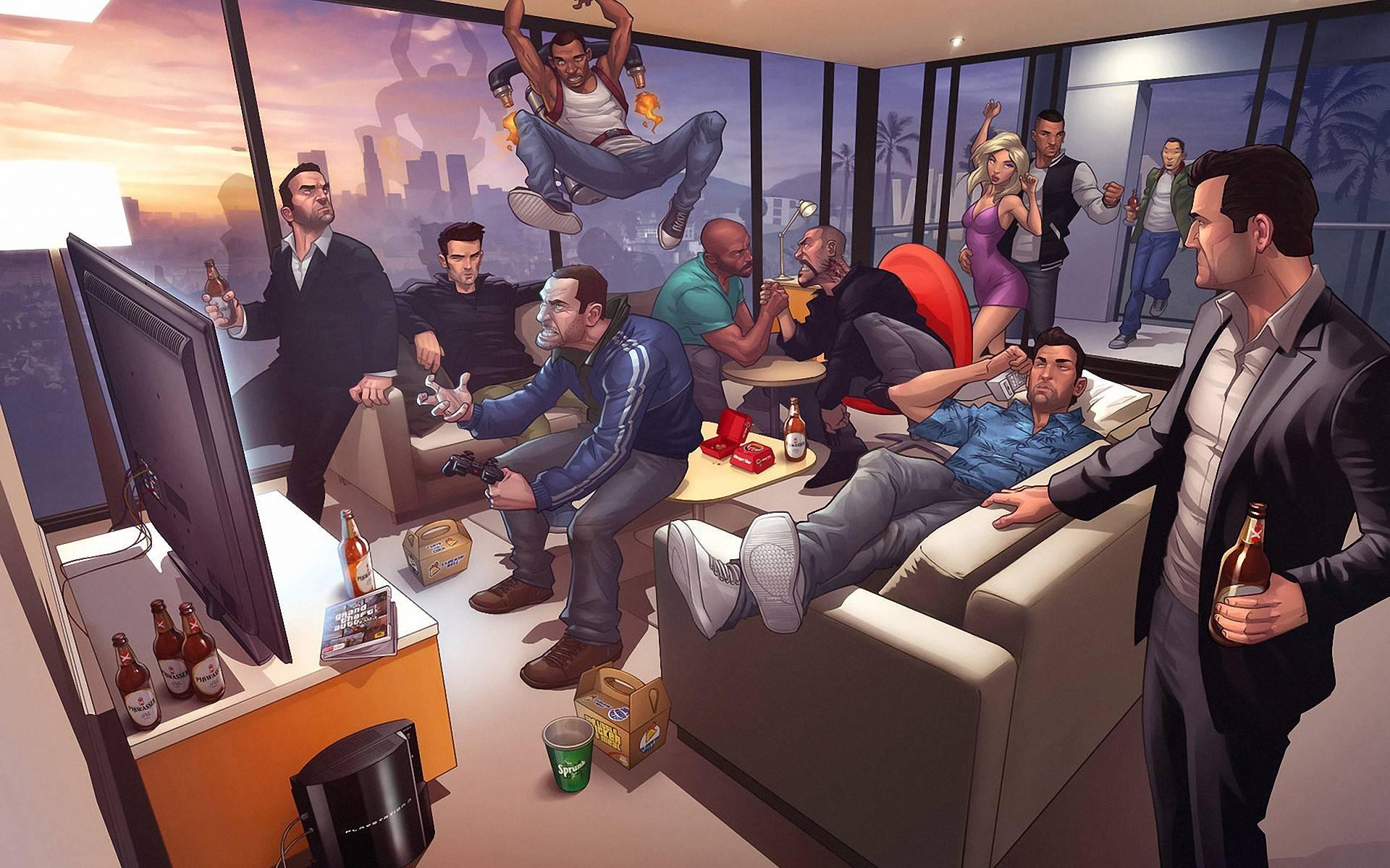 Grand Theft Auto Iv Wallpaper Wallpapersafari
