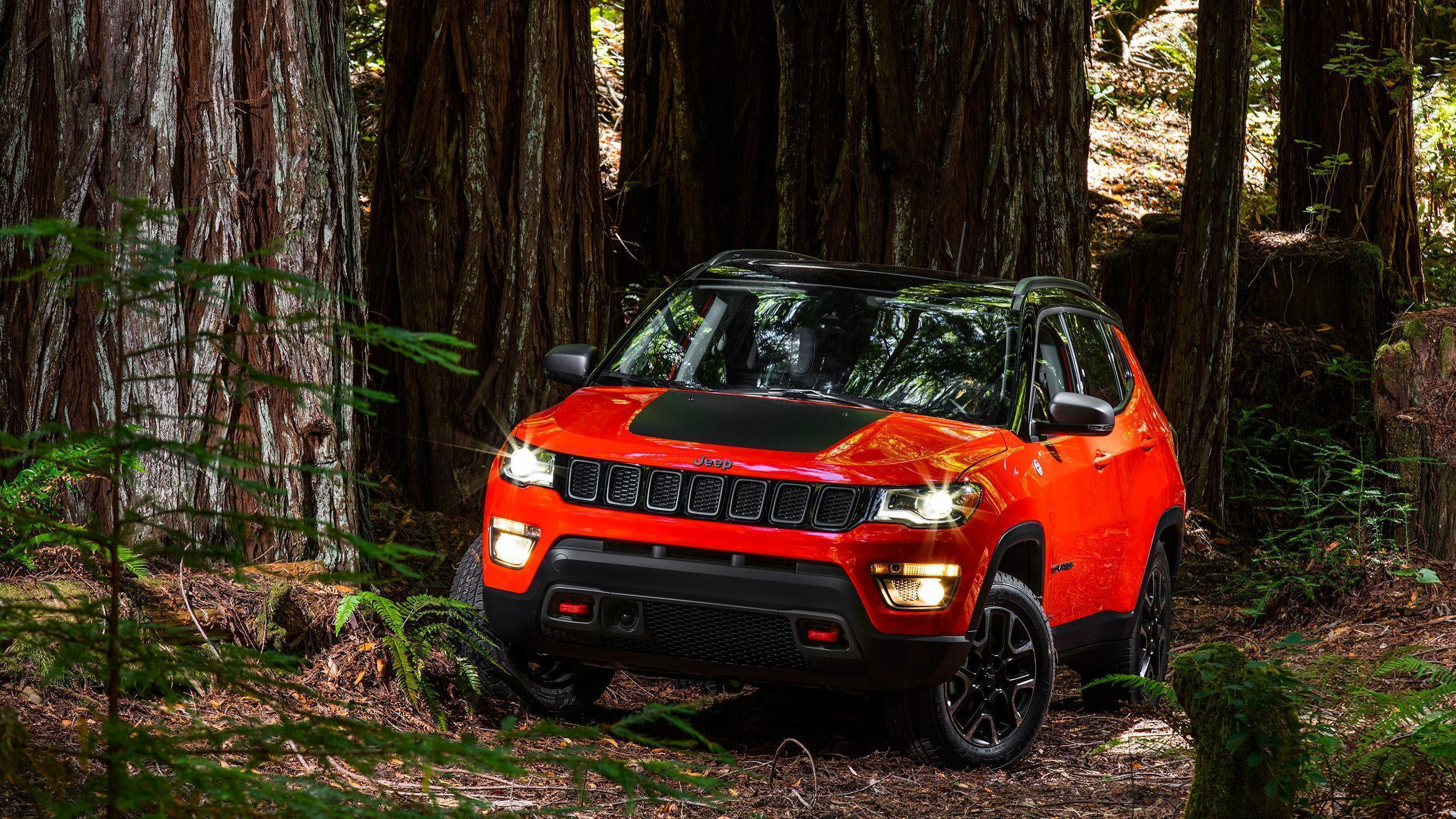Jeep Compass Trailhawk 2017 Wallpapers