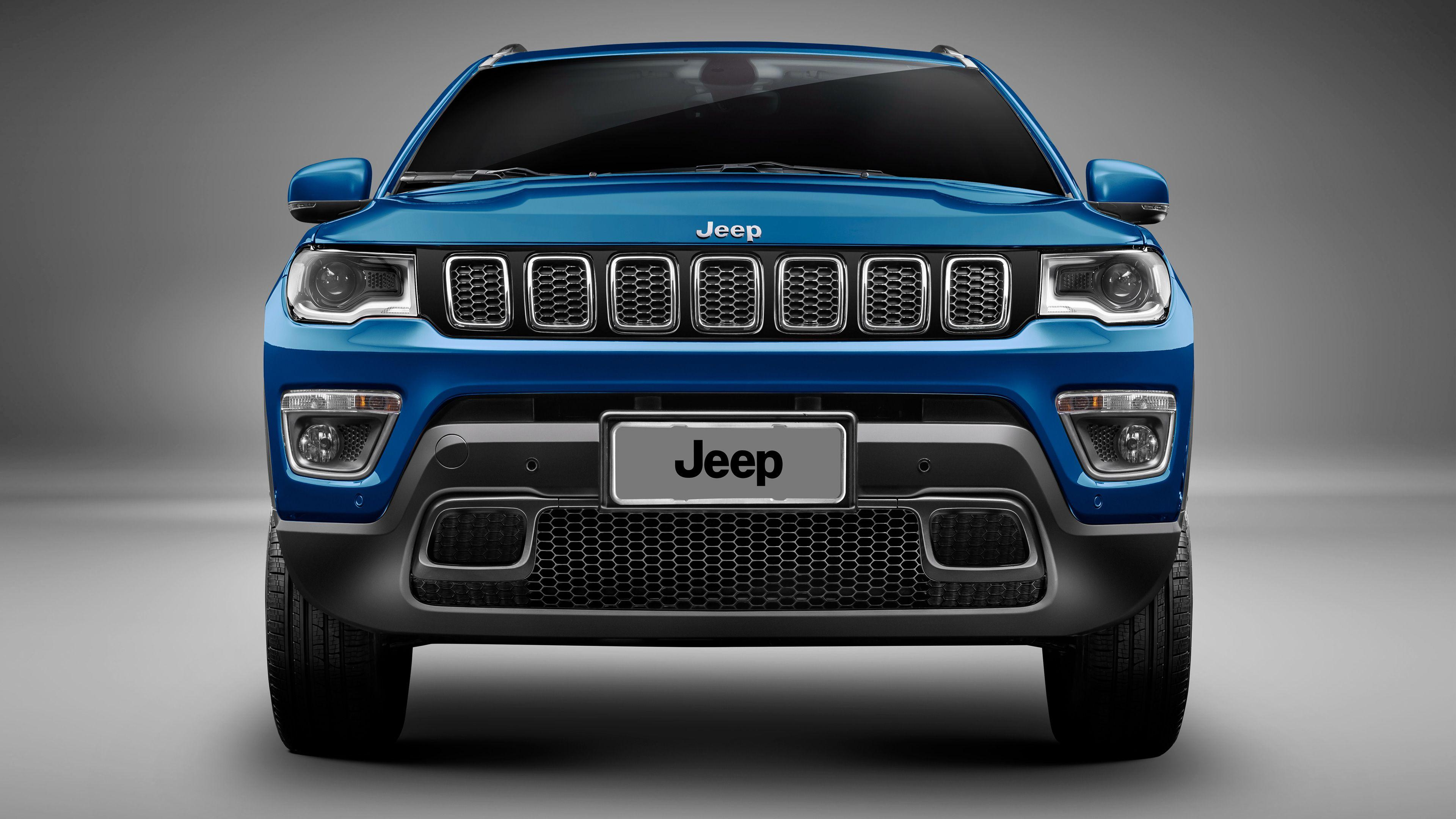 2017 Jeep Compass Longitude 4K Wallpapers