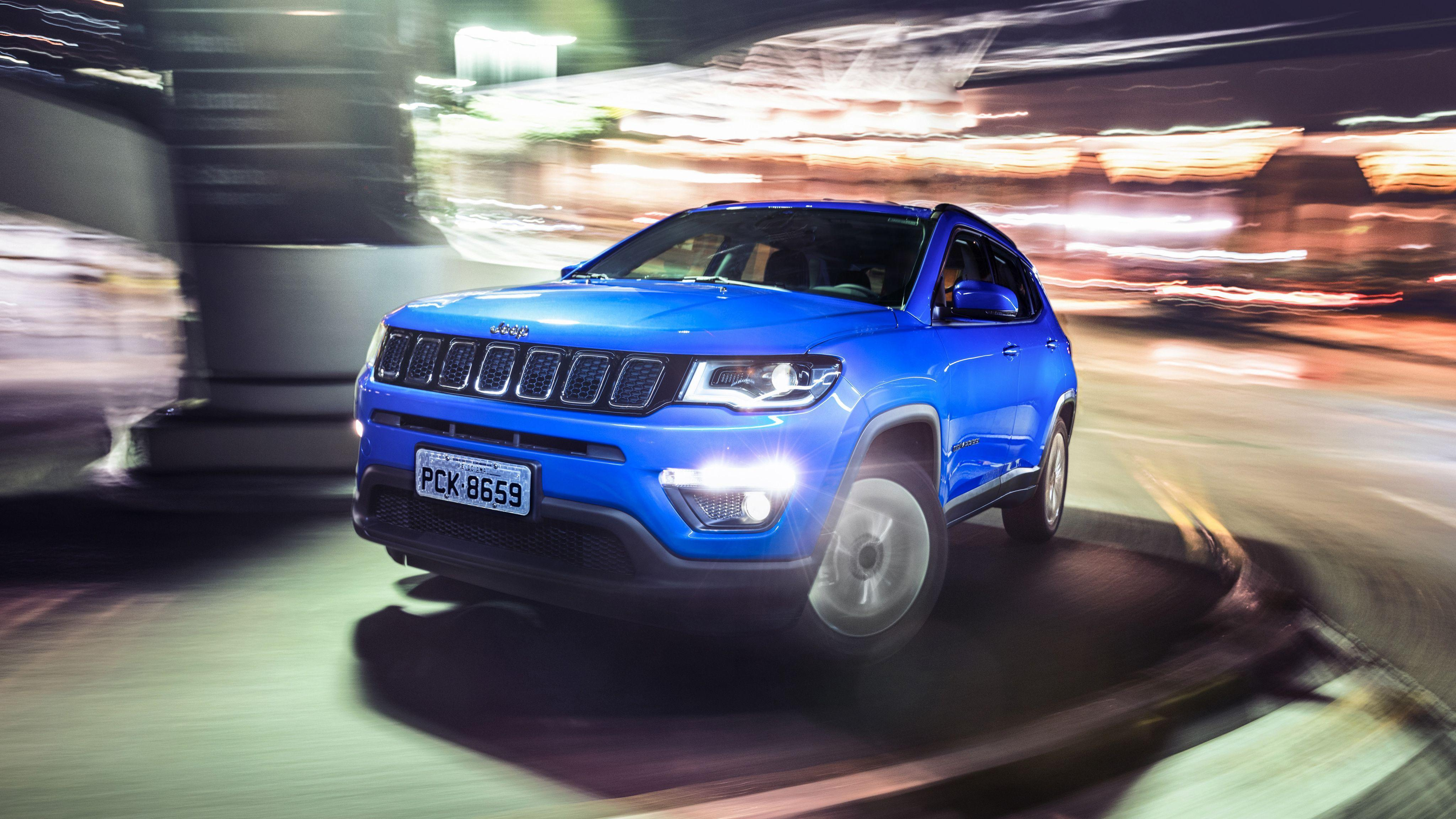 Jeep Compass Longitude 4K 2017 Wallpapers