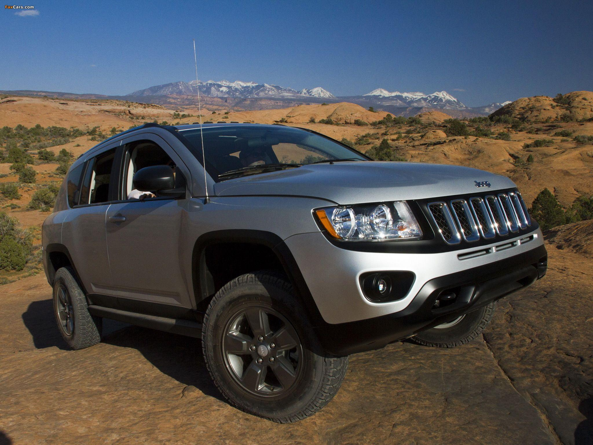 Jeep Compass Canyon Concept 2011 wallpapers