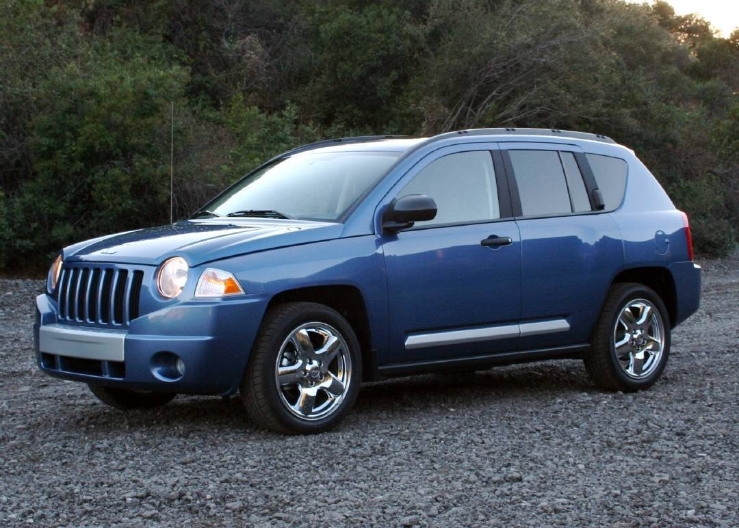 Blue Jeep Compass wallpapers and image