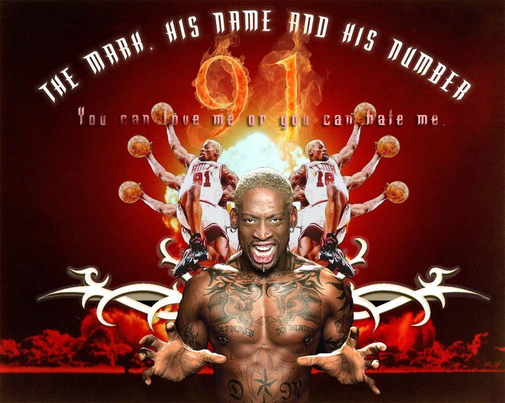 Dennis Rodman Wallpape...