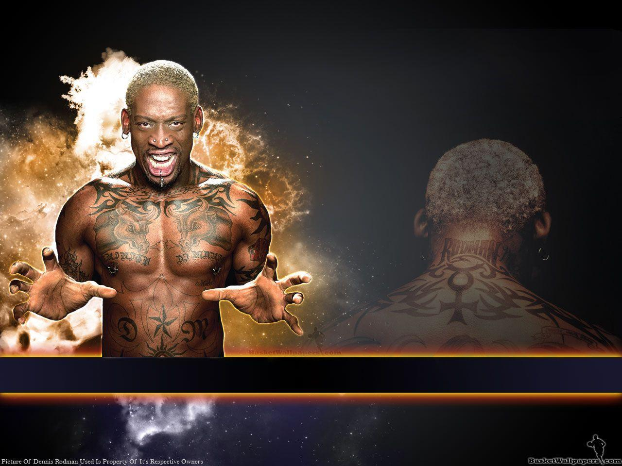 Dennis Rodman Wallpapers - Wallpaper Cave
