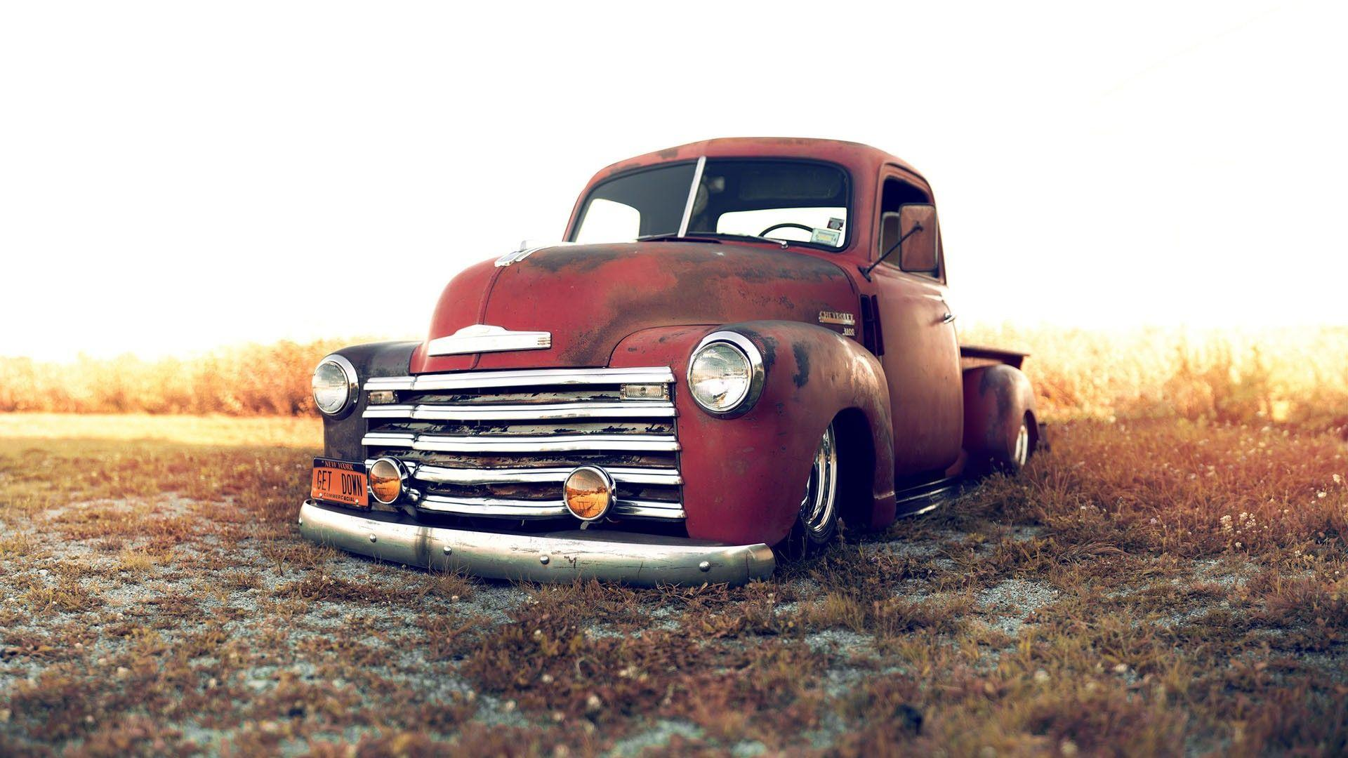 Old Trucks Wallpapers Wallpaper Cave