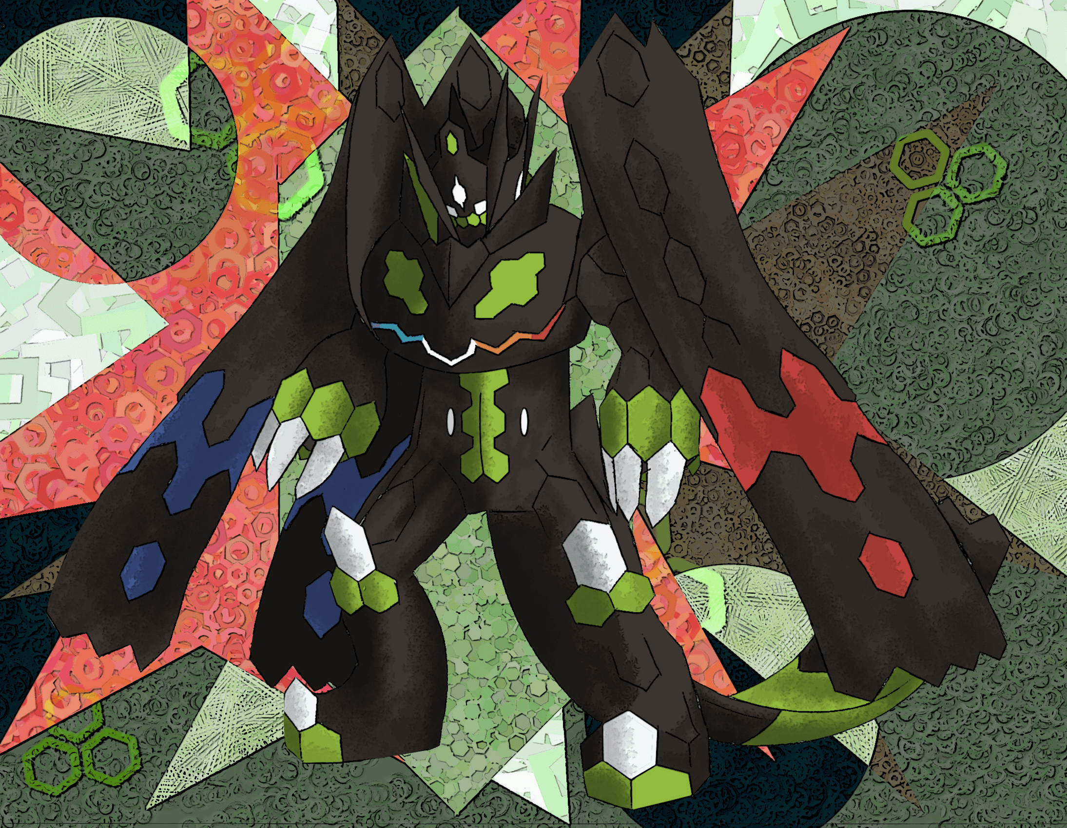 1 Zygarde Complete Forme HD Wallpapers | Background Images ...