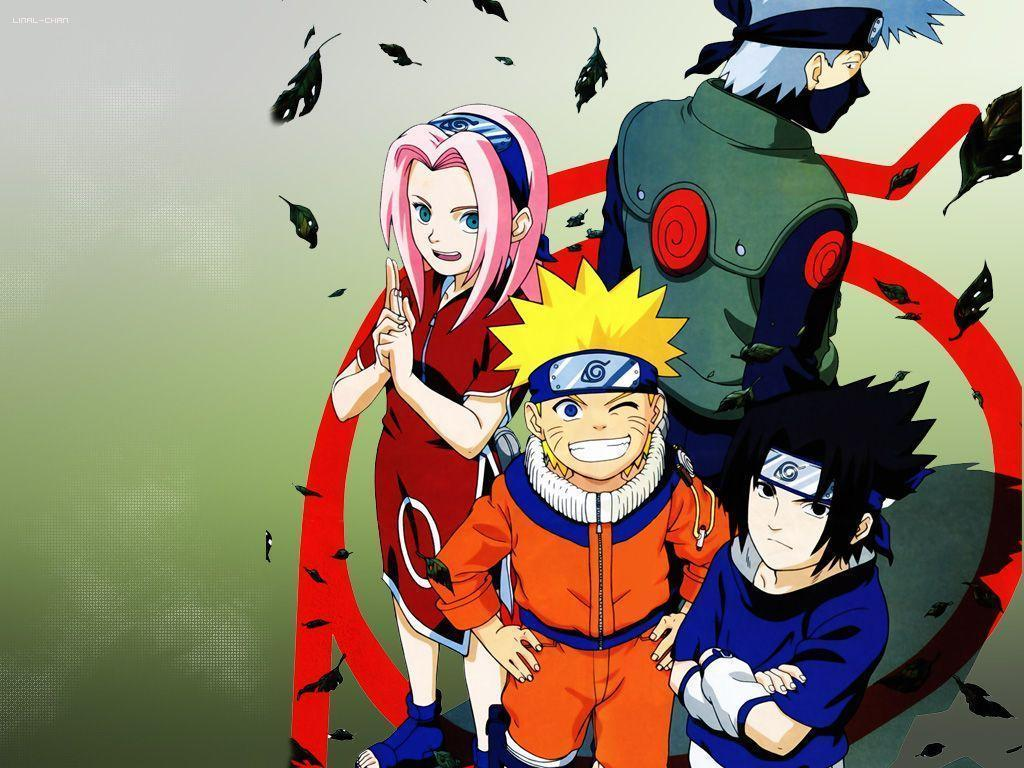 Naruto Team 7 Wallpapers Wallpaper Cave
