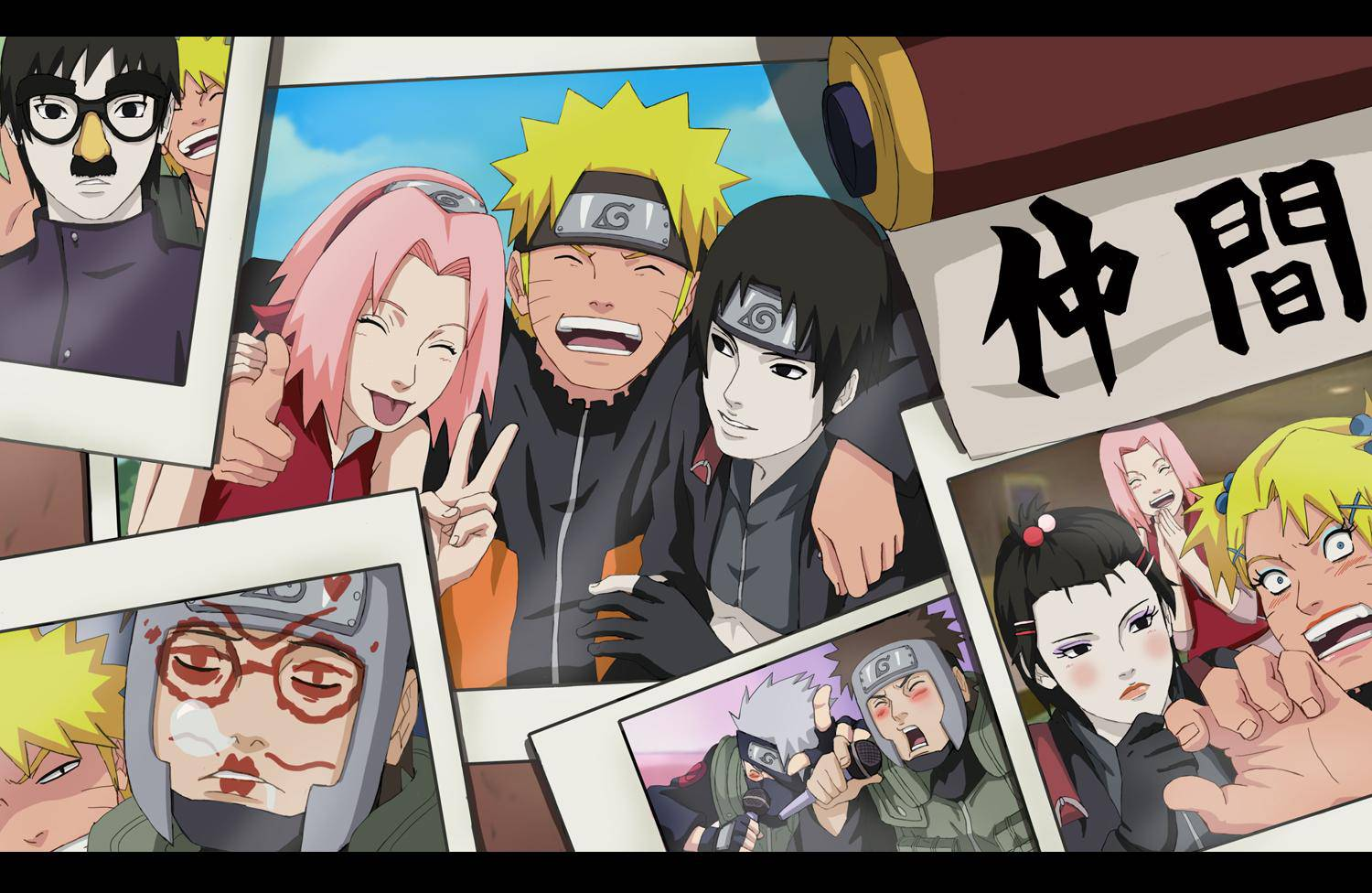 naruto team 7 wallpapers - wallpaper cave