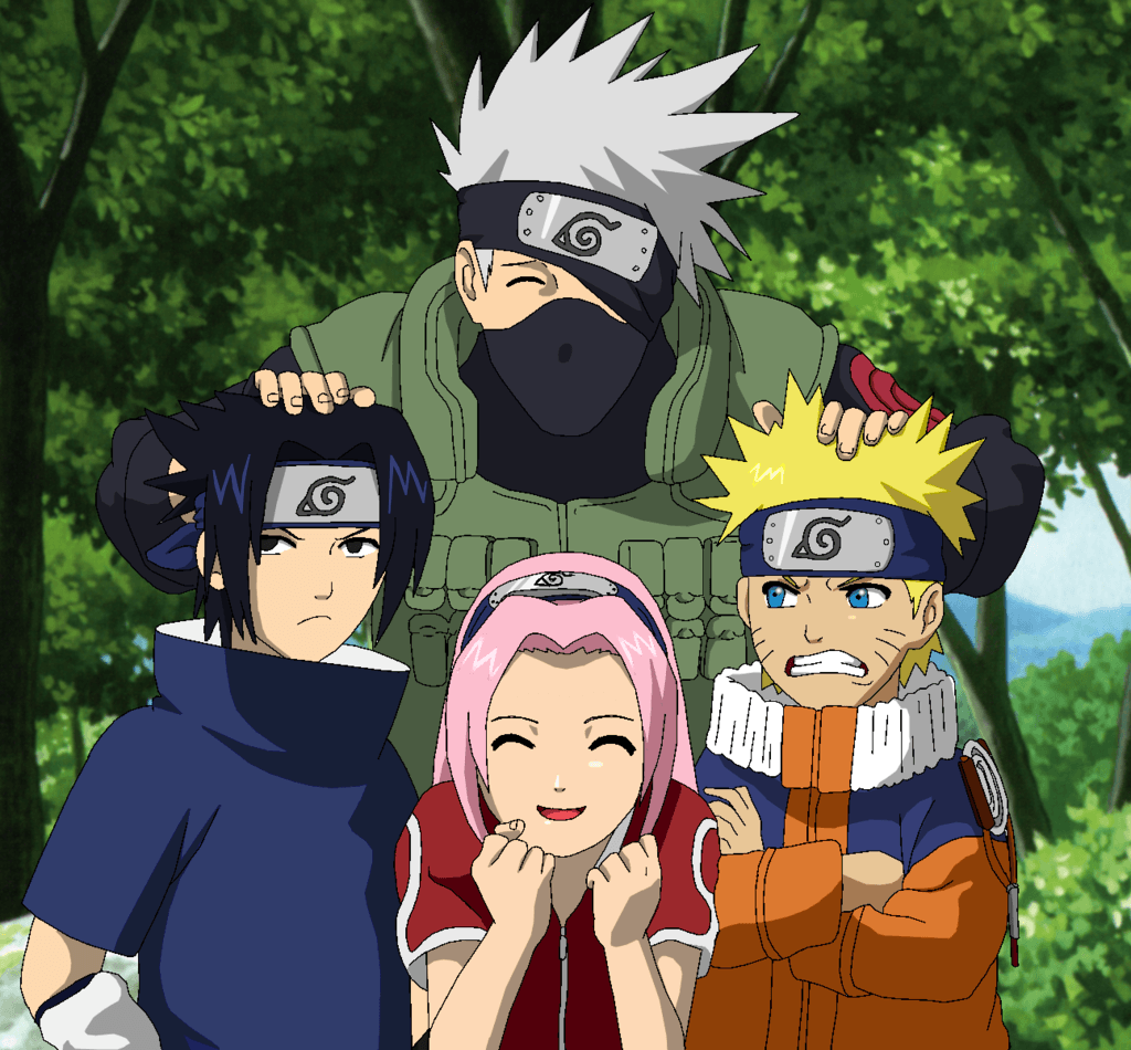 Naruto Team 7 Wallpapers