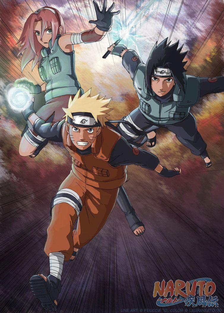 Naruto Team 7 Wallpapers Wallpaper Cave