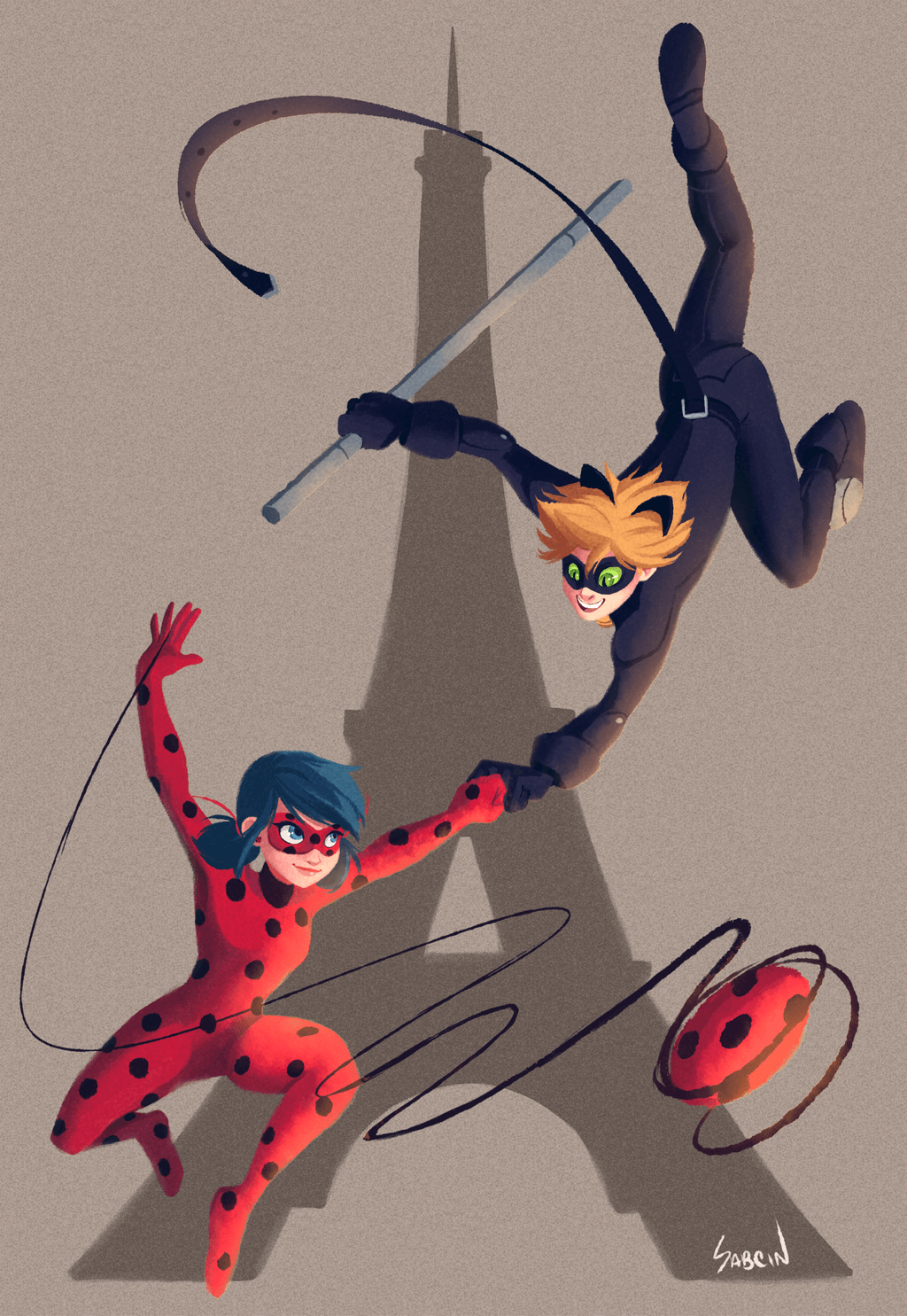 Miraculous: Tales of Ladybug and Cat Noir by sabcin