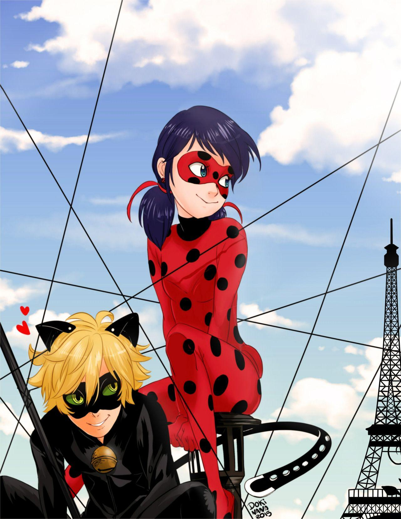 Miraculous: Tales of Ladybug and Cat Noir FanArt Dokinana DOKINANA