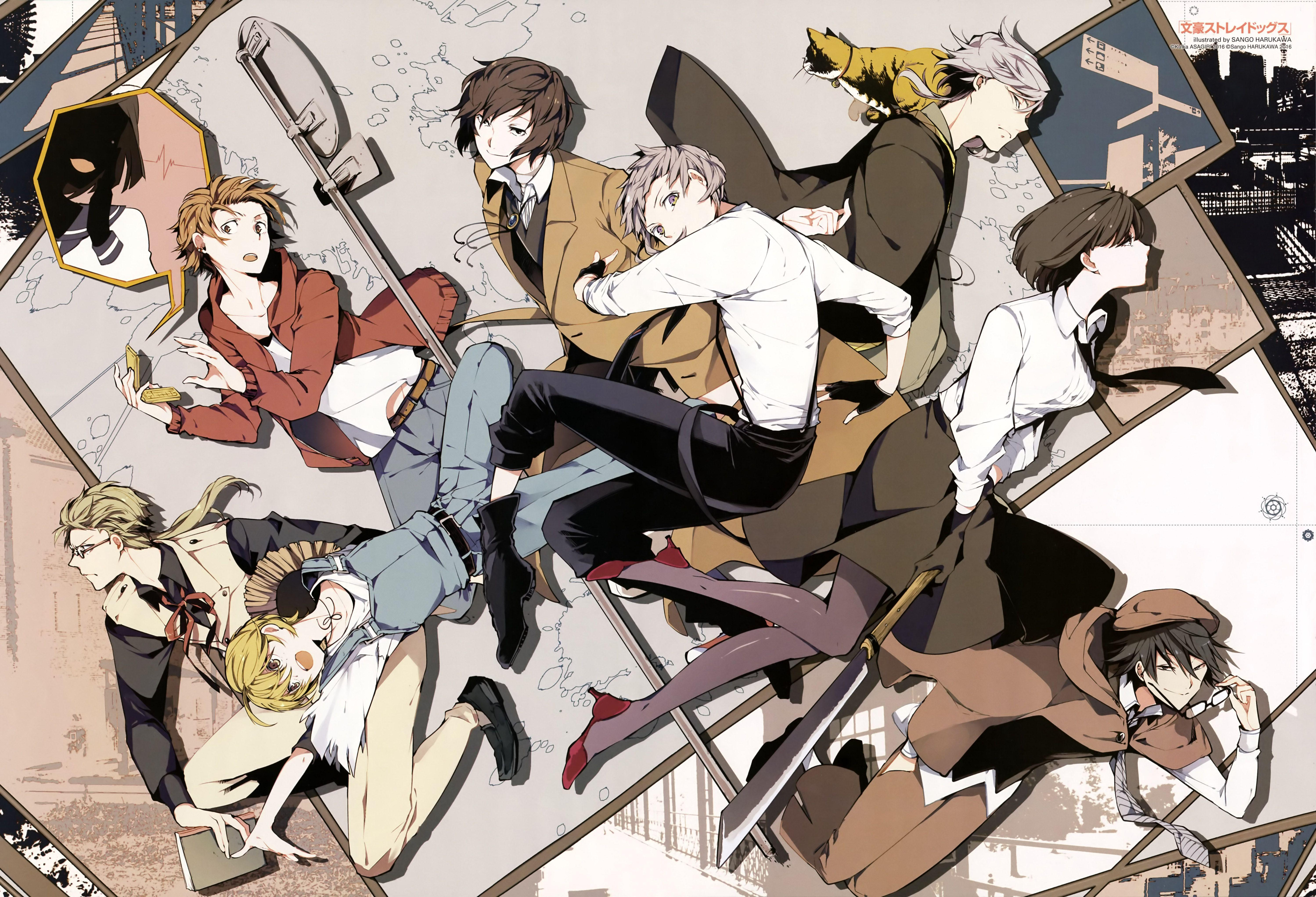 76 Bungou Stray Dogs Hd Wallpapers Backgrounds Wallpaper Abyss