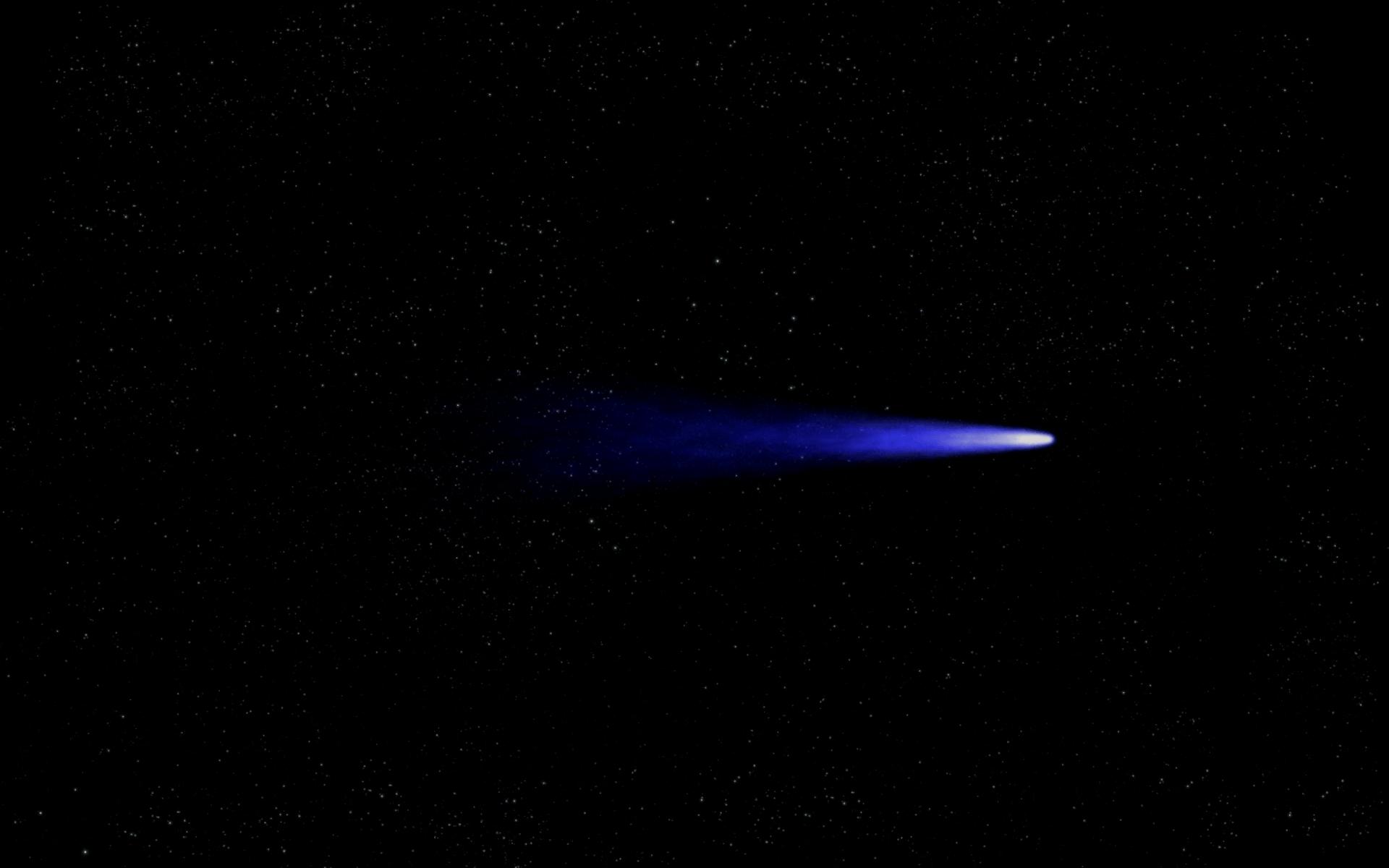Комета в картинках
