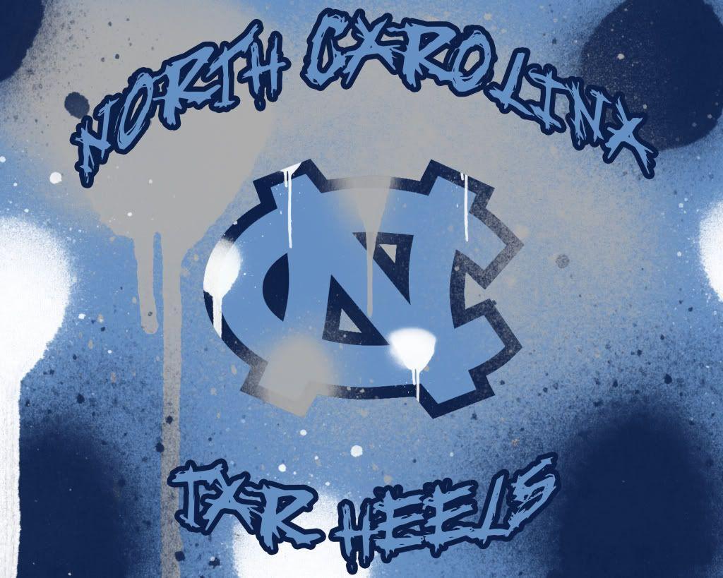 North Carolina Tar Heel Wallpaper