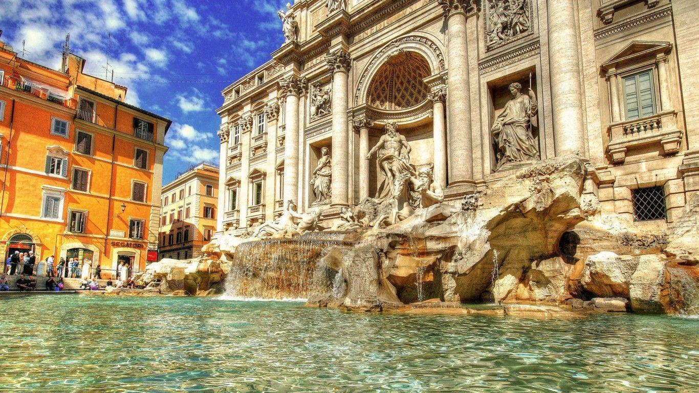 Famous Trevi Fountain Wallpapers – Travel HD Wallpapers