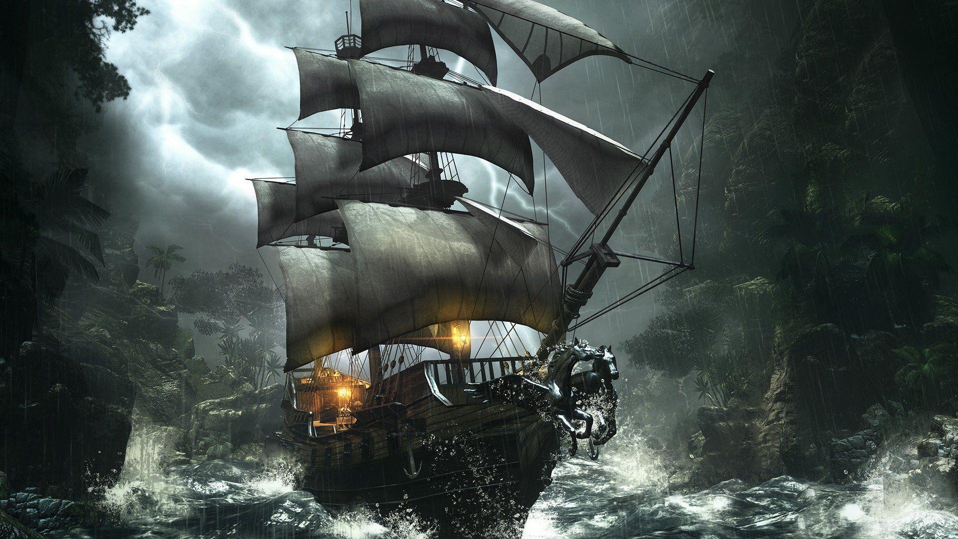 фото пиратские корабли