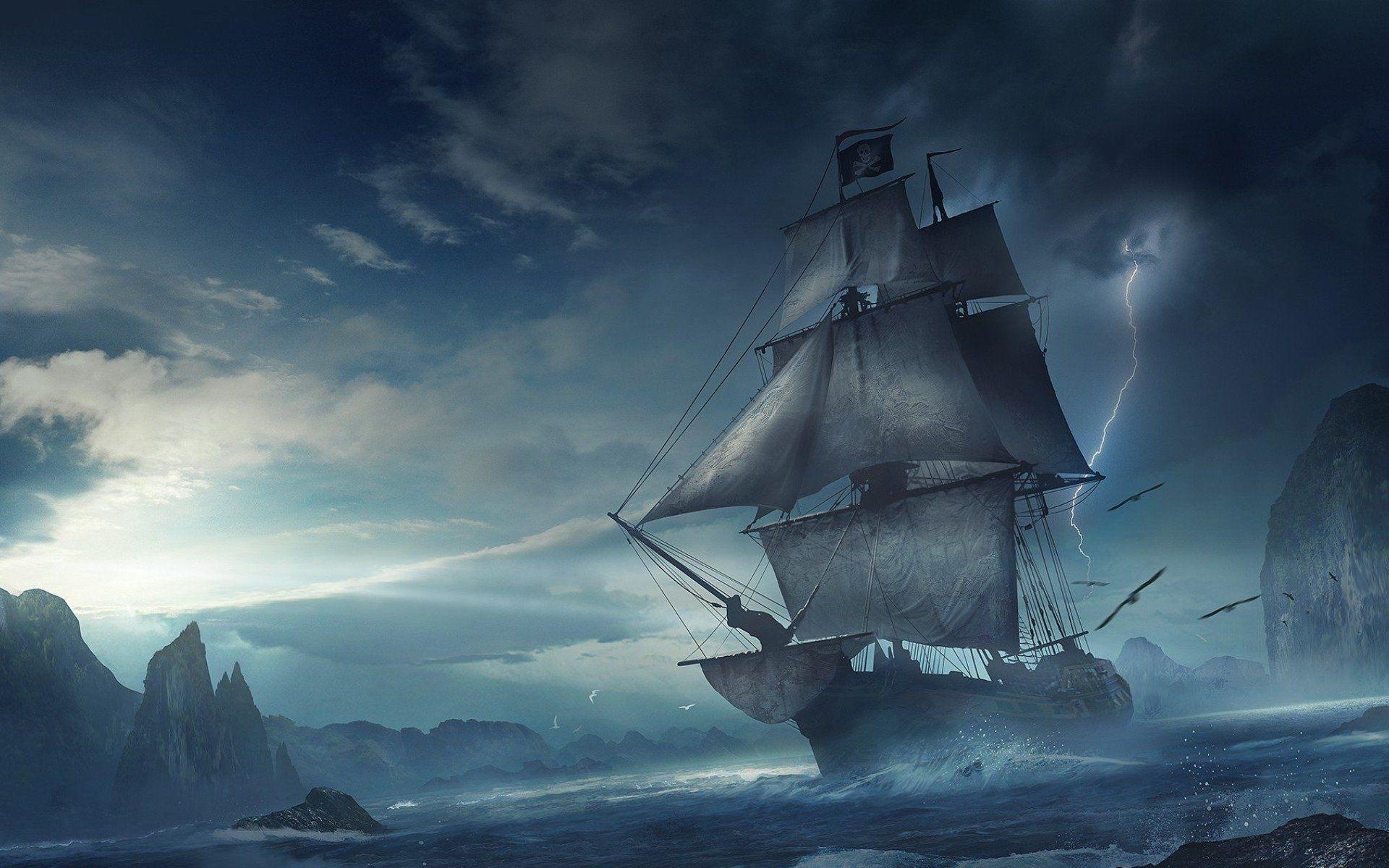 Pirate Ships Wallpapers - Wallpaper Cave