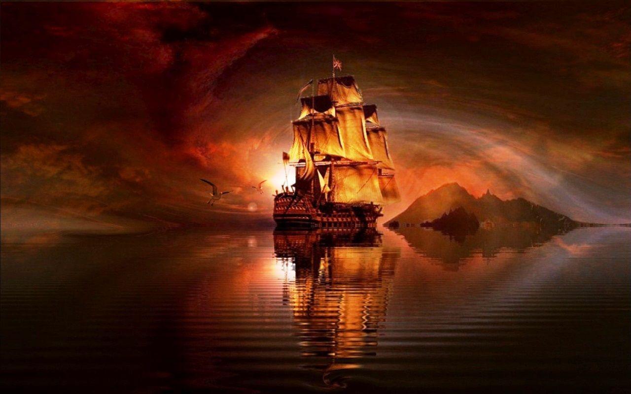 говорят, главное пиратский корабль фото высокое разрешение можно расширить