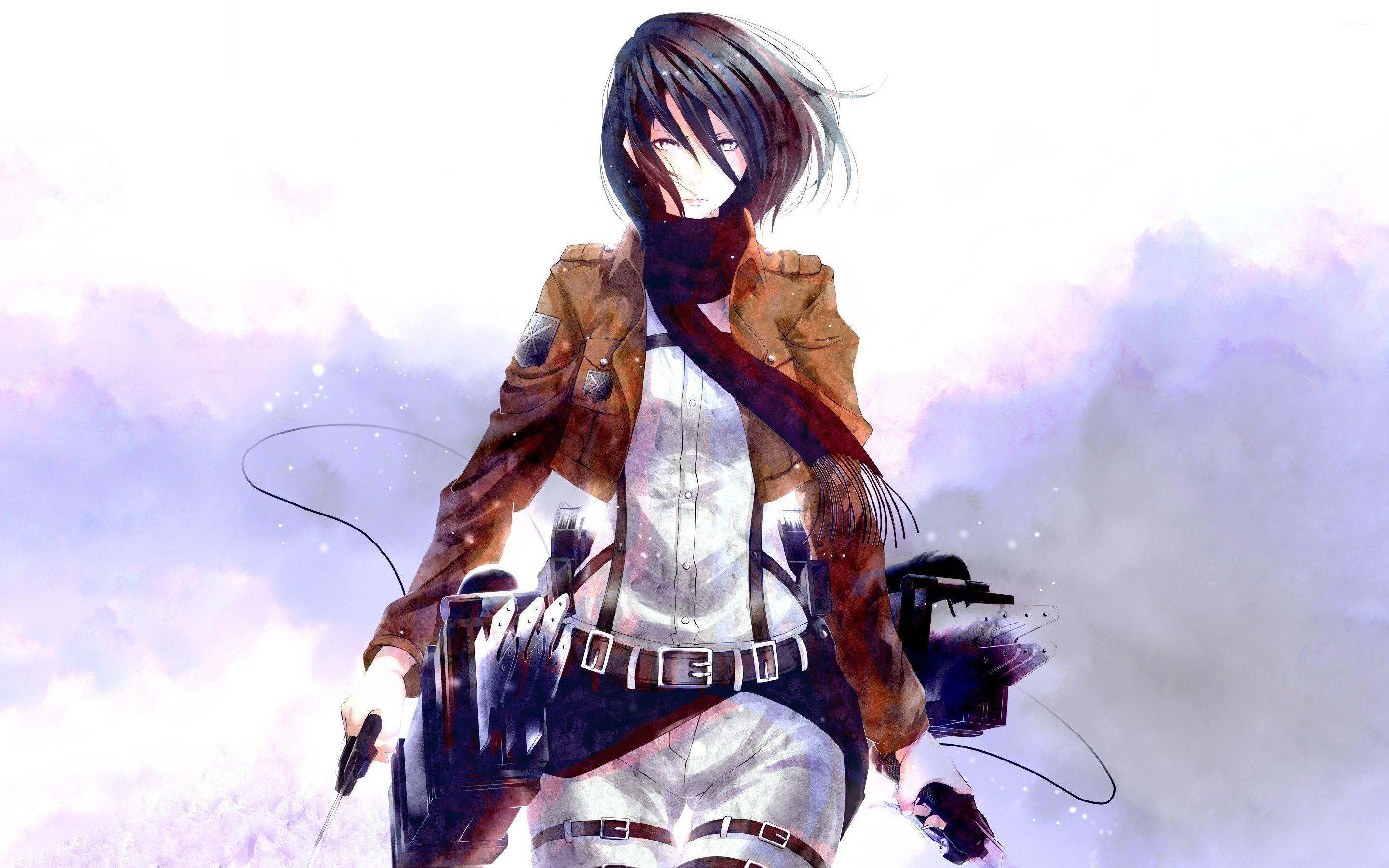 Attack On Titan Mikasa Ackerman Wallpapers Wallpaper Cave