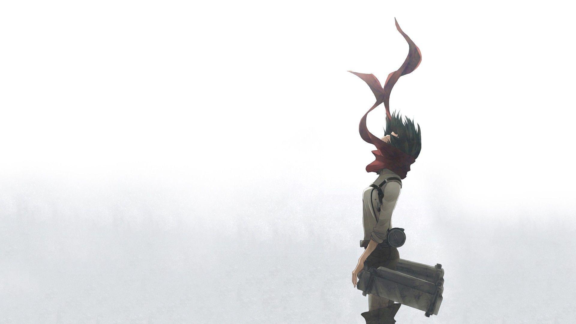 Attack On Titan Mikasa Ackerman Wallpapers Wallpaper Cave