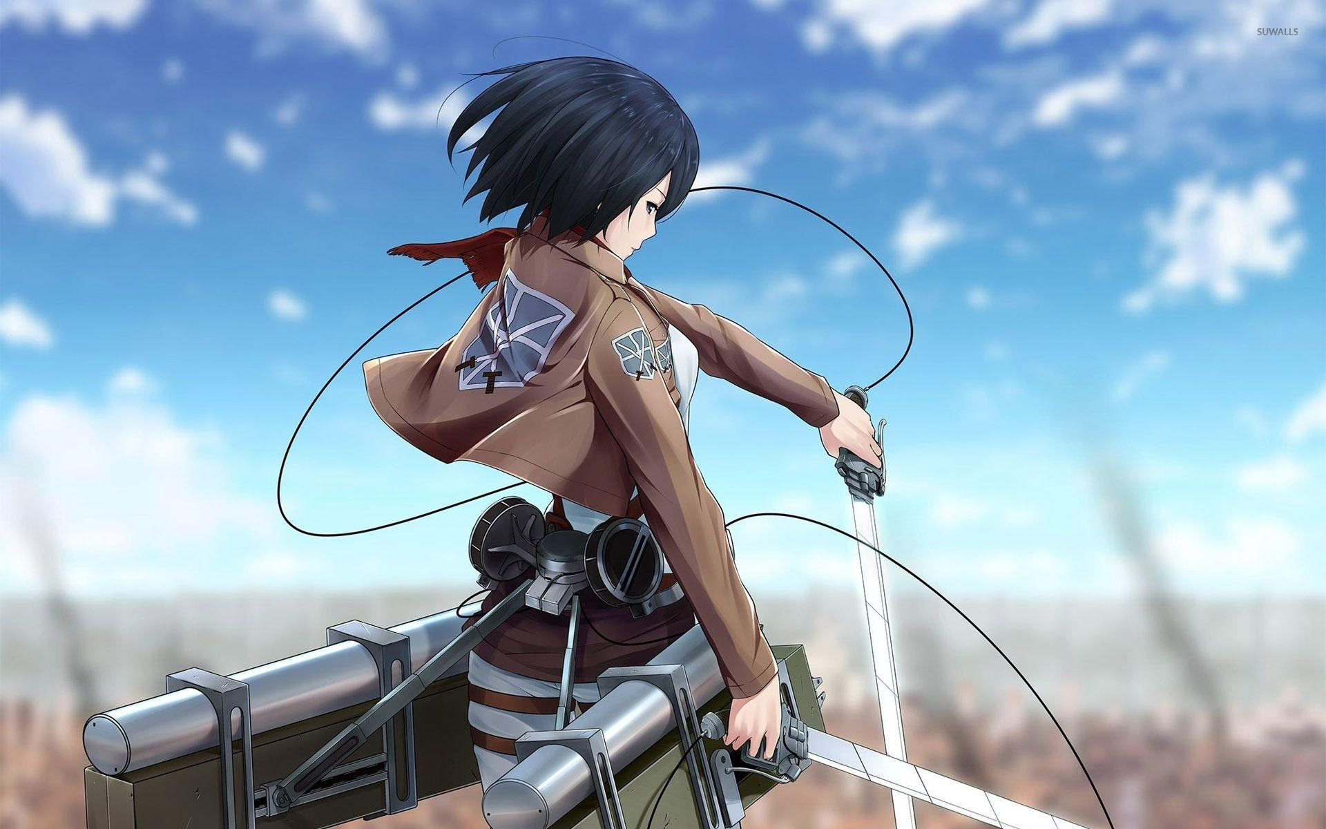 Attack on titan mikasa ackerman wallpapers wallpaper cave mikasa ackerman attack on titan wallpaper anime wallpapers voltagebd Image collections