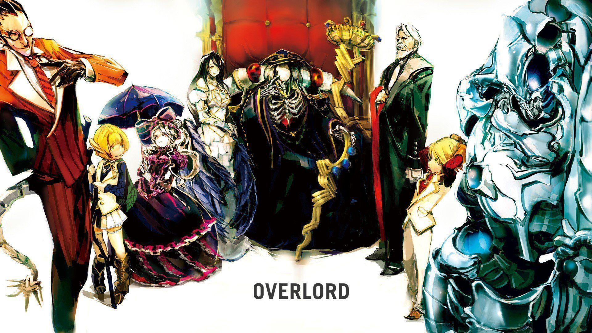 Anime Overlord Hd Wallpapers Wallpaper Cave