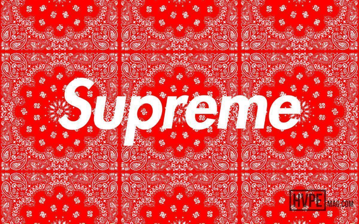 "Supreme ""Bandana"" Wallpapers 